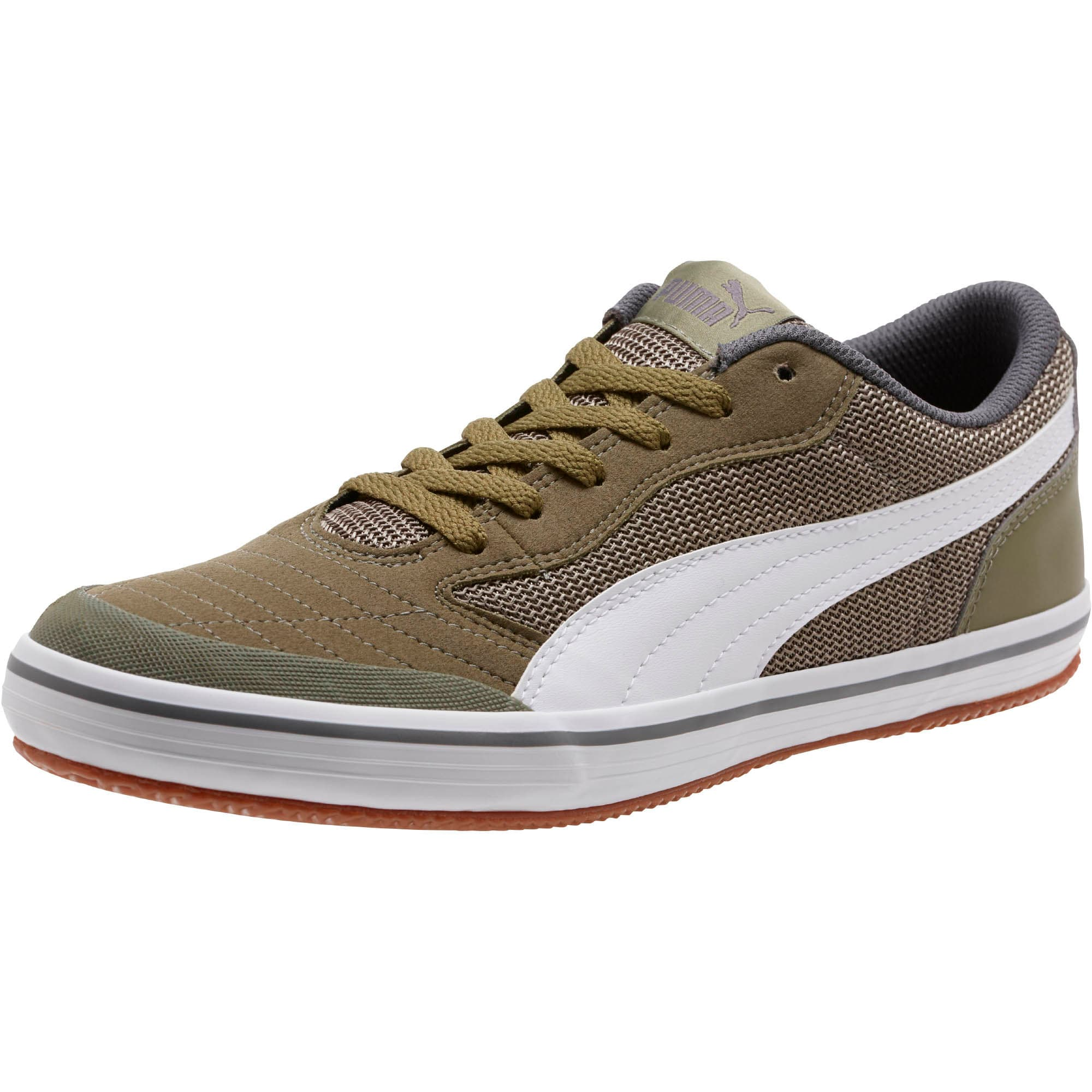 Thumbnail 1 of Astro Sala Sneakers, Burnt Olive-Puma White, medium