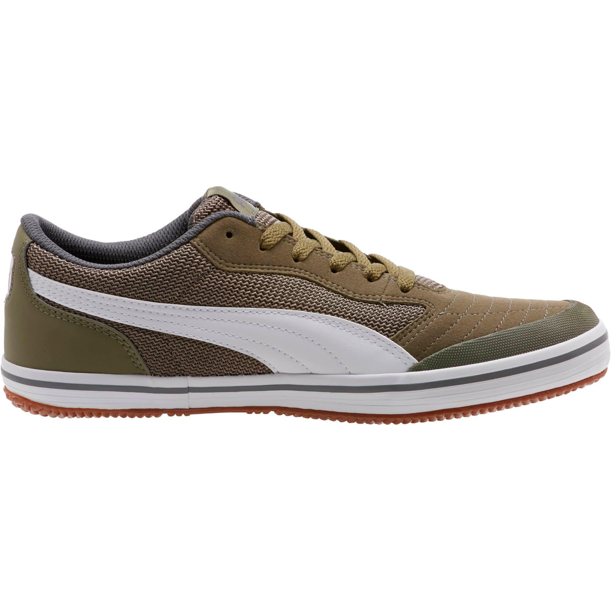 Thumbnail 3 of Astro Sala Sneakers, Burnt Olive-Puma White, medium