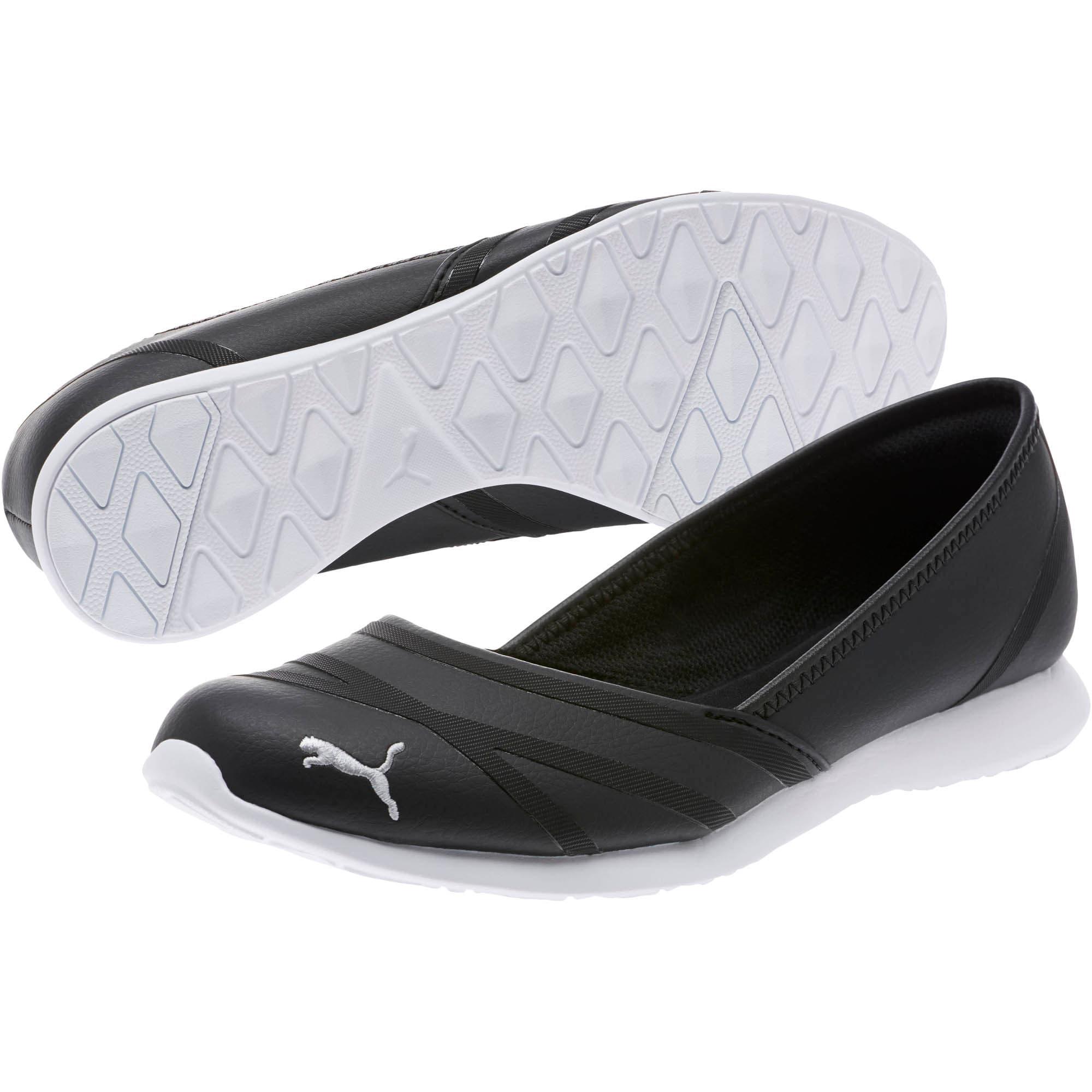 Thumbnail 2 of PUMA Vega Ballet Women's SL Shoes, Puma Black-Puma Black, medium