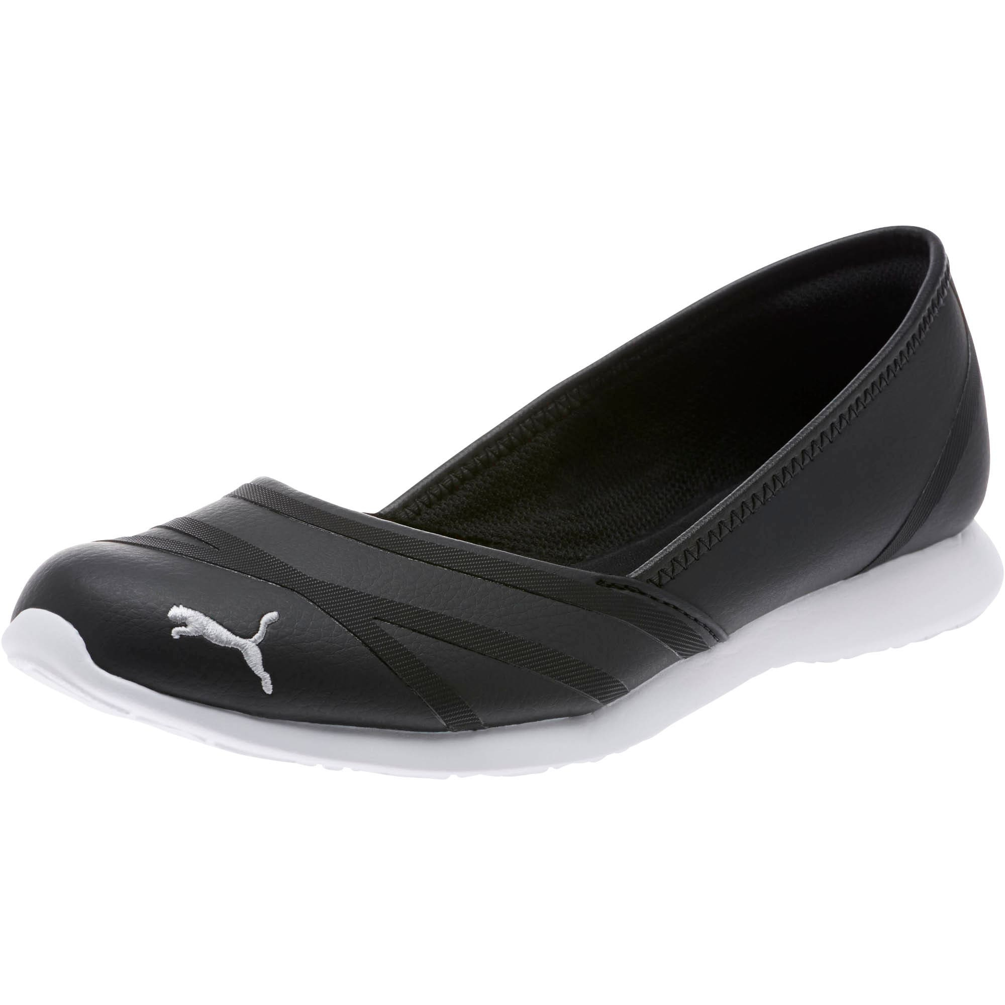 Thumbnail 1 of PUMA Vega Ballet Women's SL Shoes, Puma Black-Puma Black, medium
