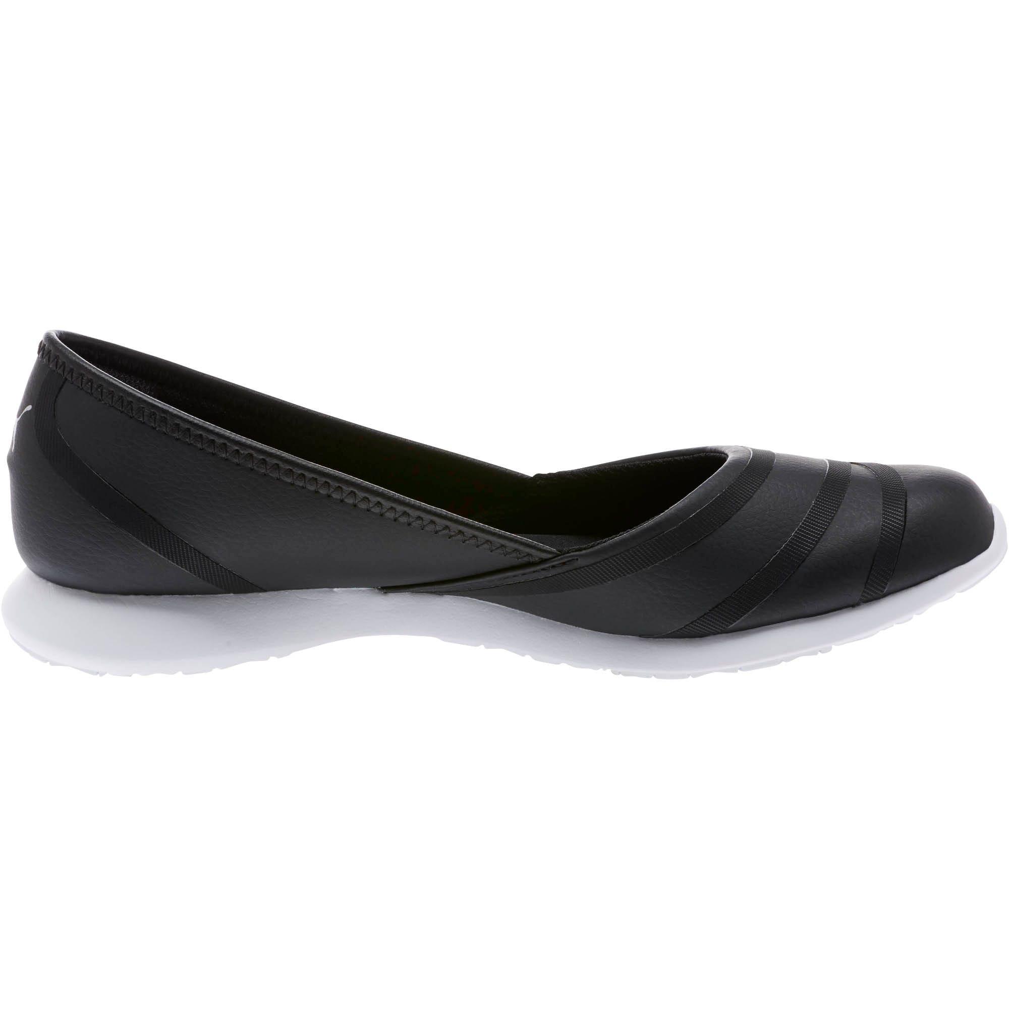 Thumbnail 3 of PUMA Vega Ballet Women's SL Shoes, Puma Black-Puma Black, medium