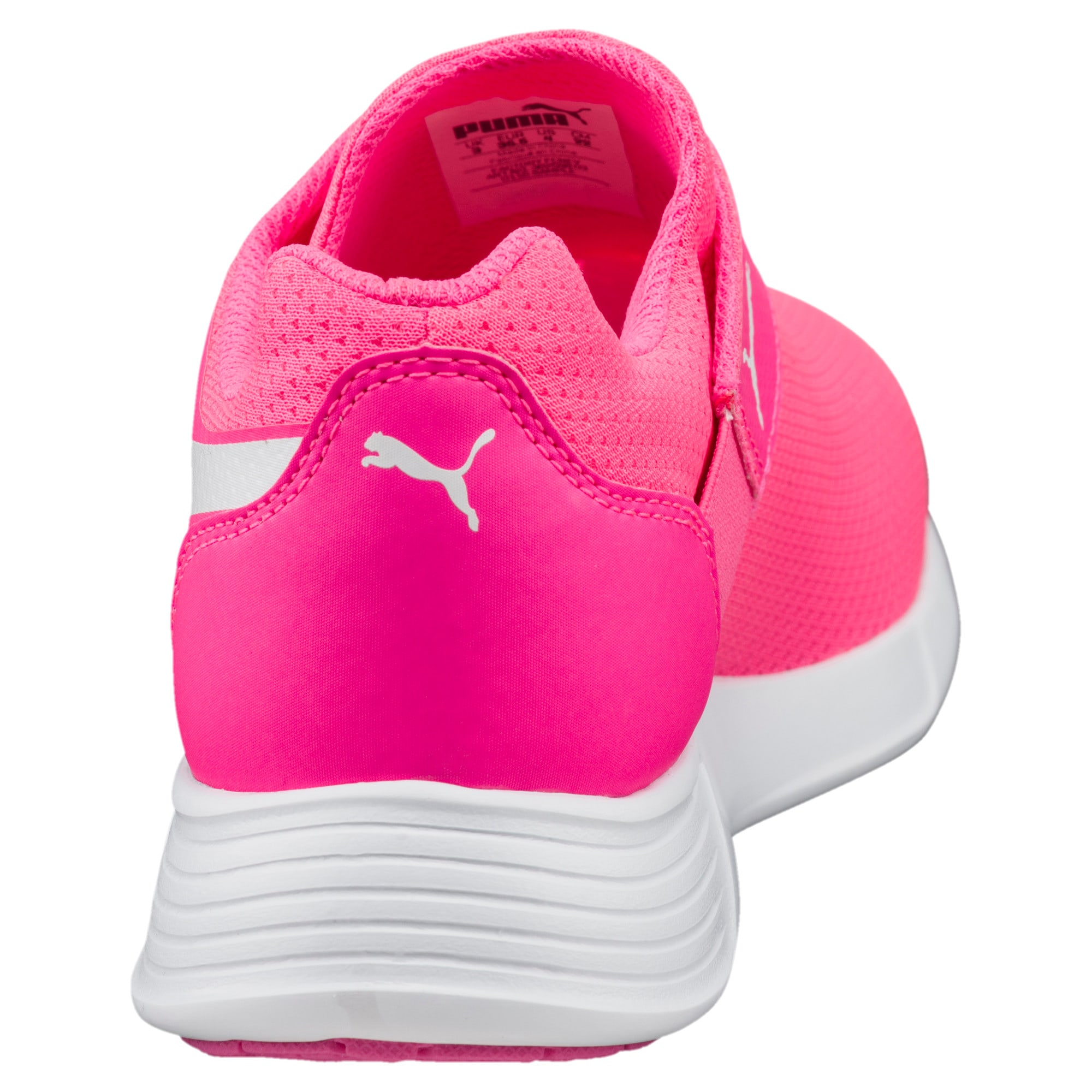 Thumbnail 3 of ST Trainer Evo AC Kids' Trainers, KNOCKOUT PINK-Puma White, medium-IND