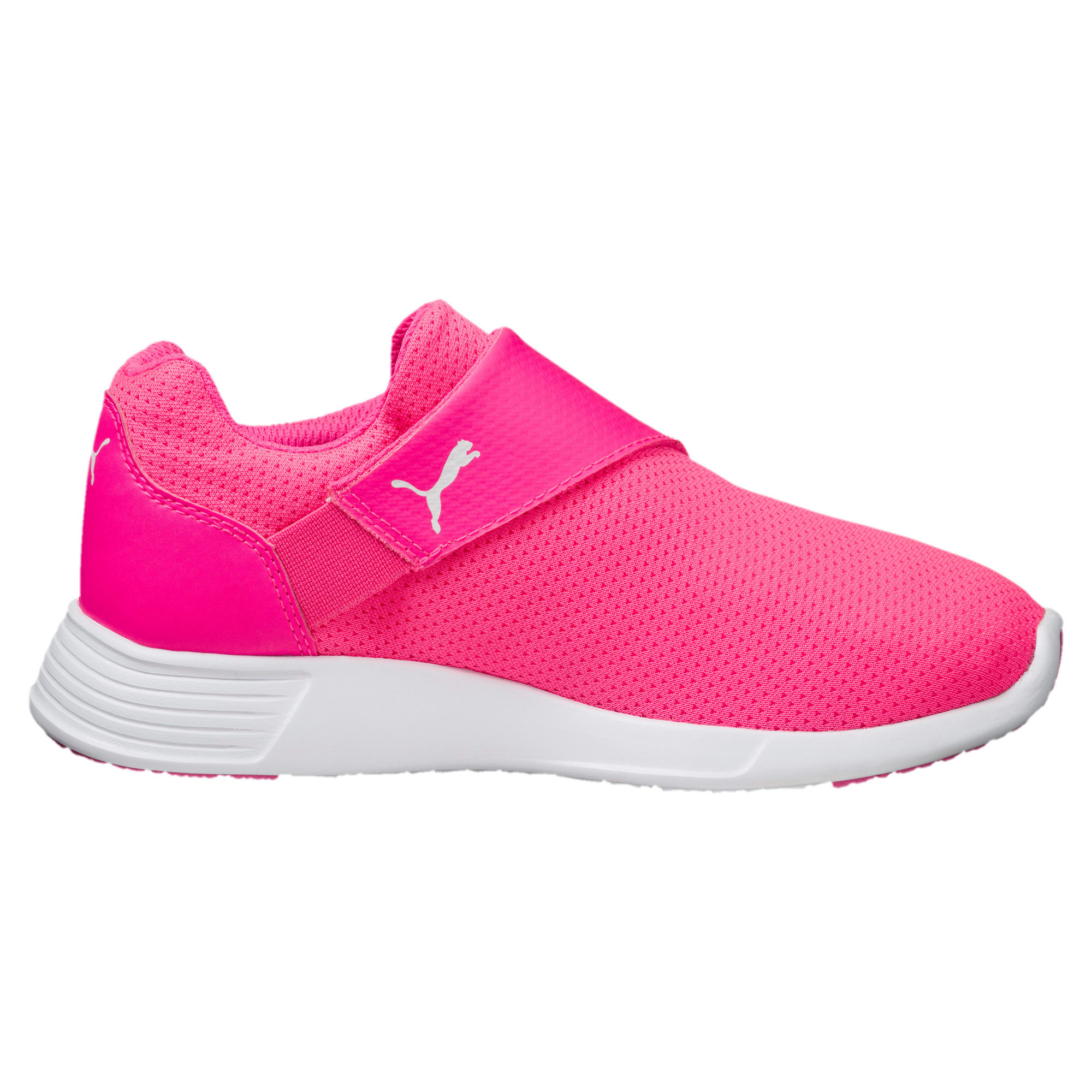 Thumbnail 4 of ST Trainer Evo AC Kids' Trainers, KNOCKOUT PINK-Puma White, medium-IND