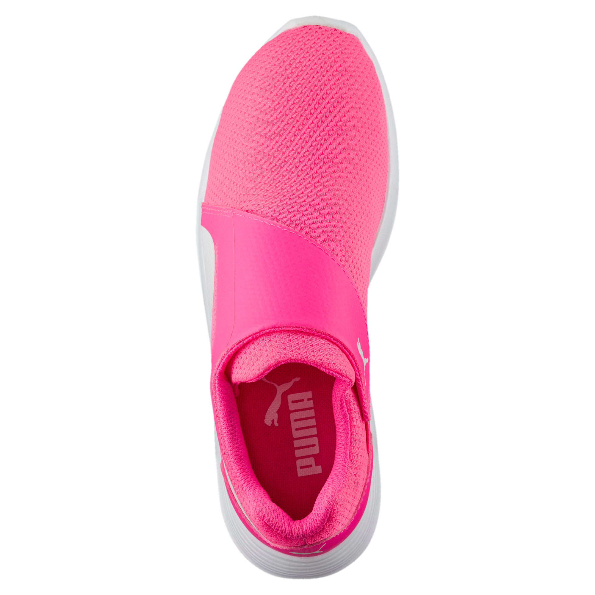 Thumbnail 5 of ST Trainer Evo AC Kids' Trainers, KNOCKOUT PINK-Puma White, medium-IND