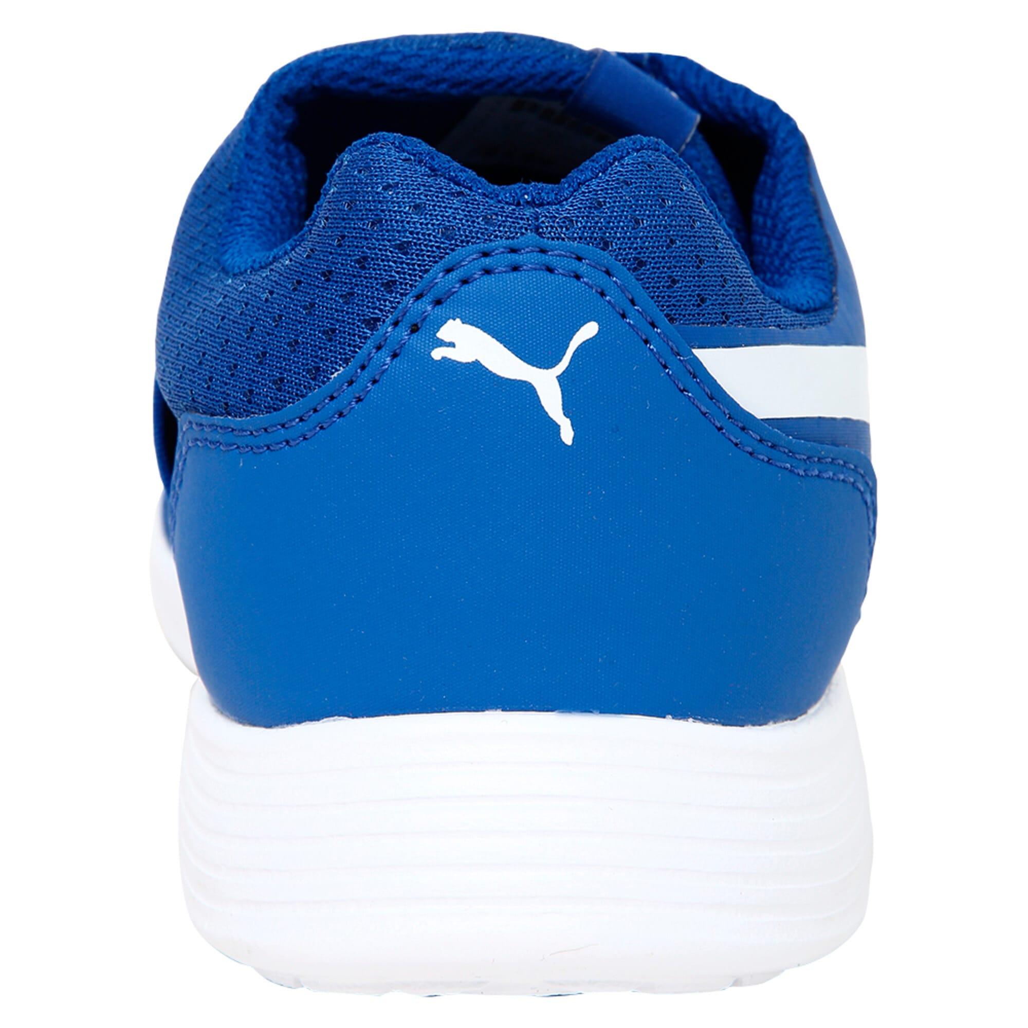 Thumbnail 3 of Street EVO Alternate Closure Preschool Training Shoes, Turkish Sea-Puma White, medium-IND