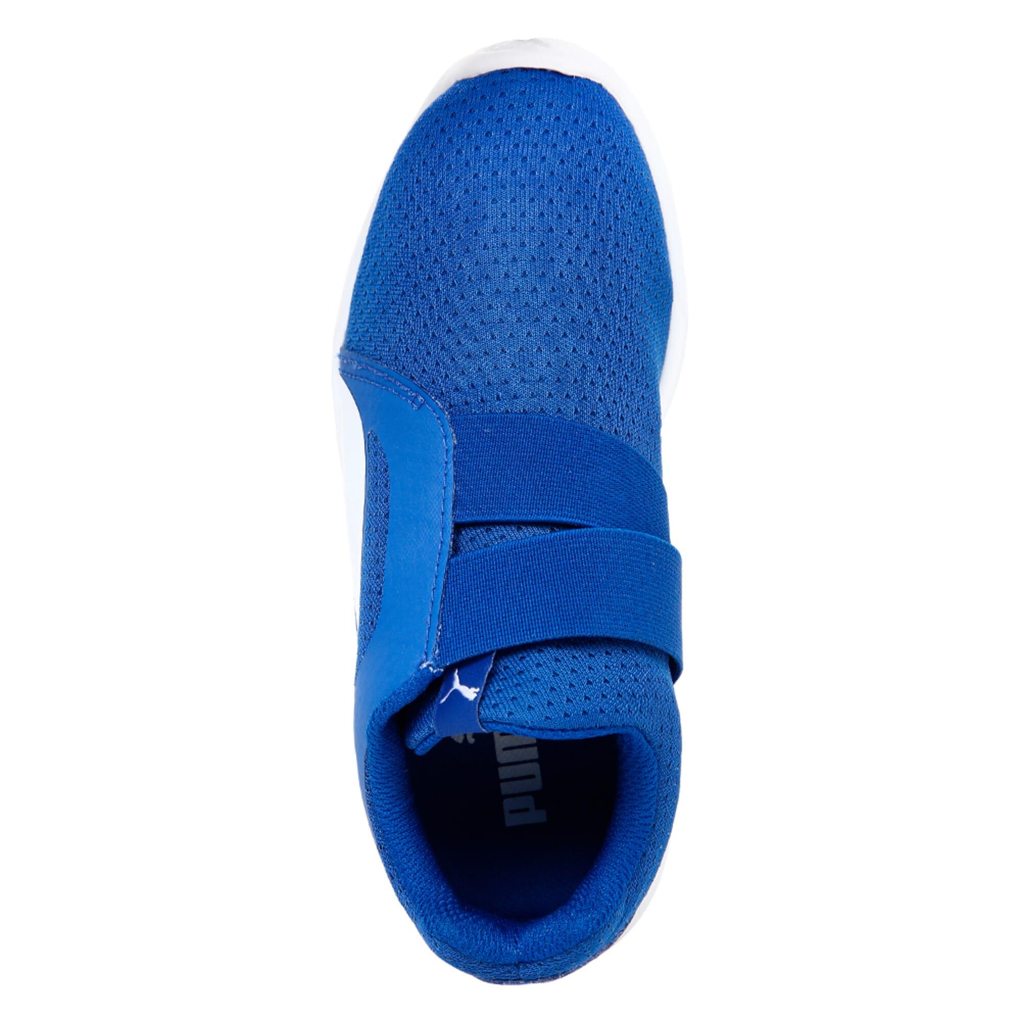 Thumbnail 5 of Street EVO Alternate Closure Preschool Training Shoes, Turkish Sea-Puma White, medium-IND