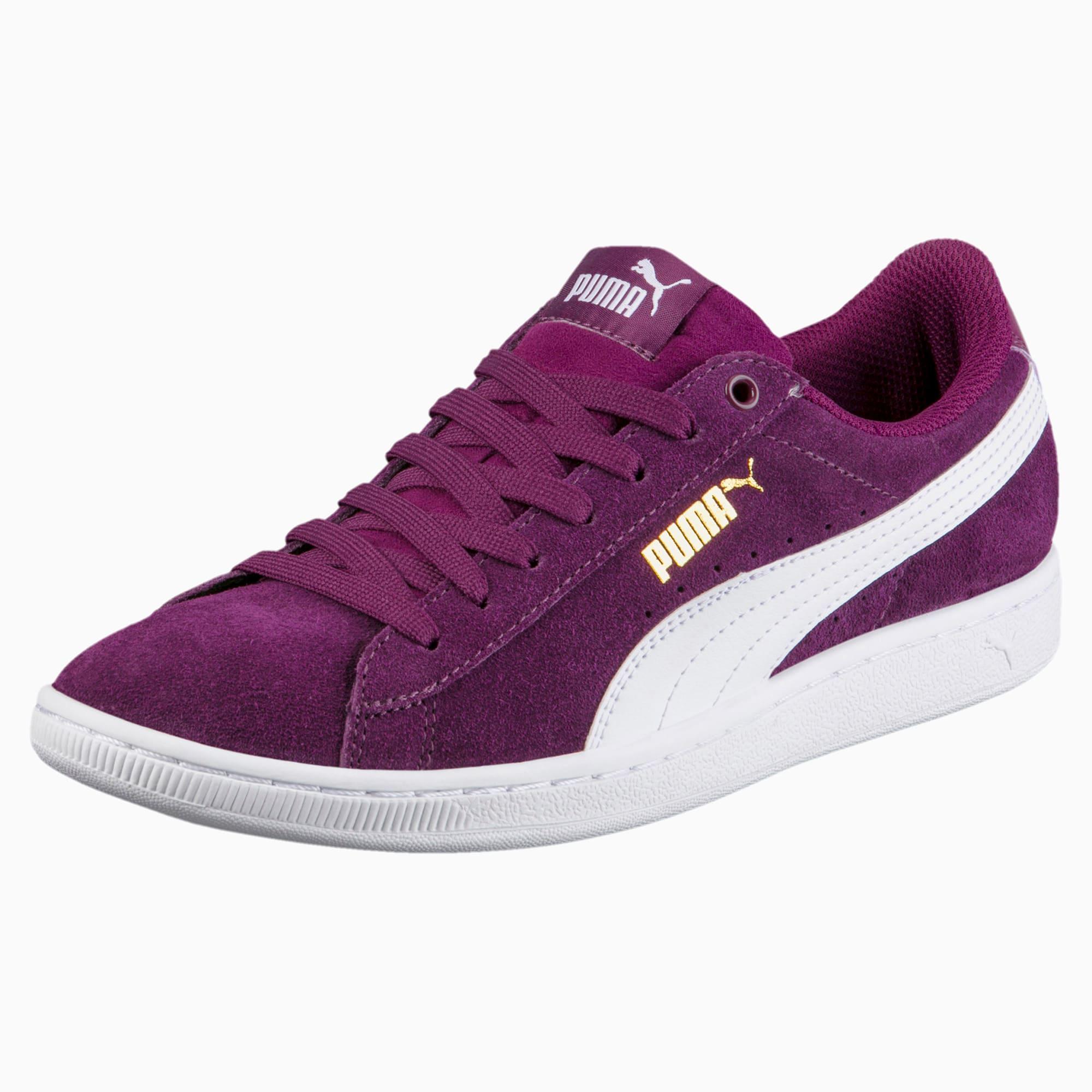 puma vikky dark purple