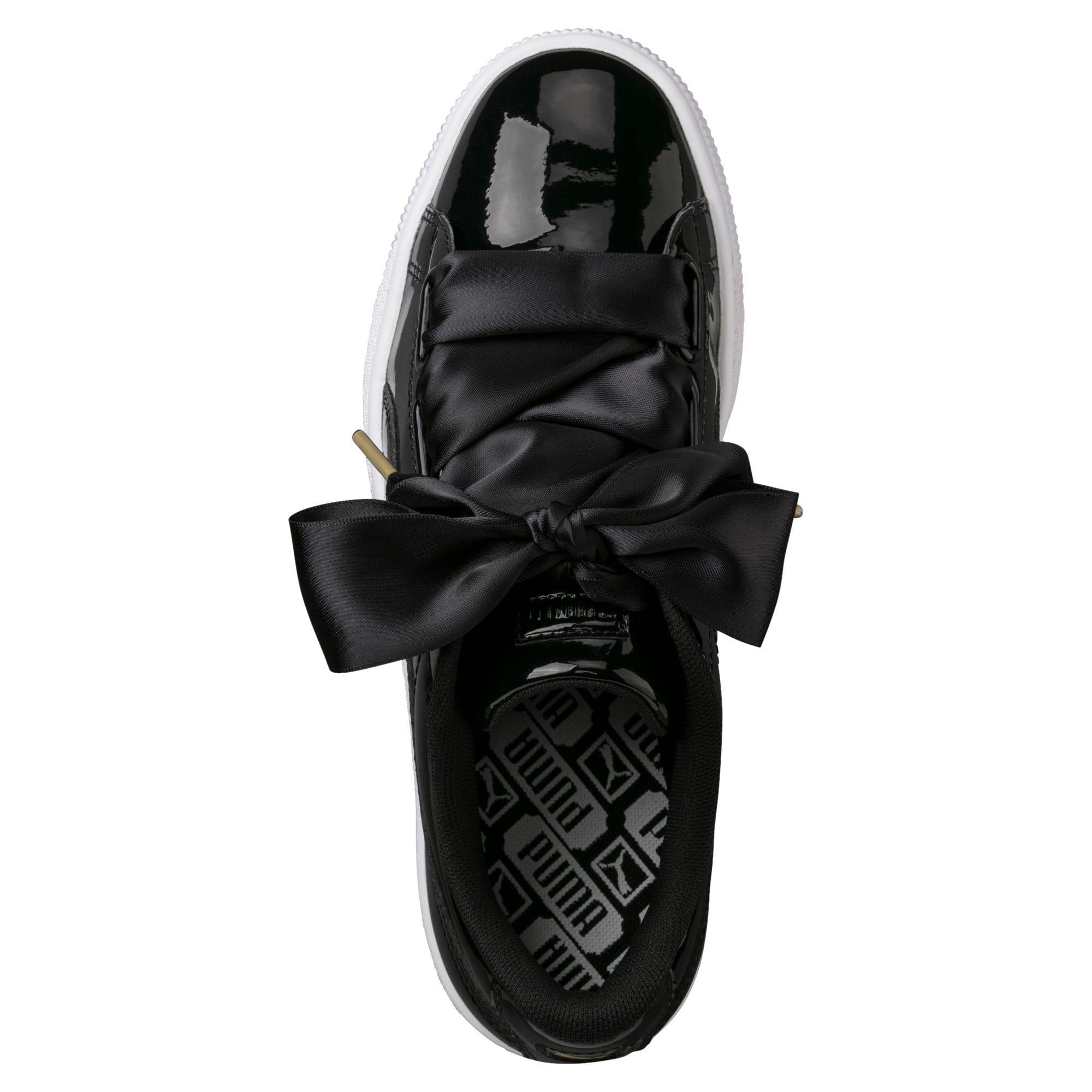 Basket Heart Patent Damen Sneaker