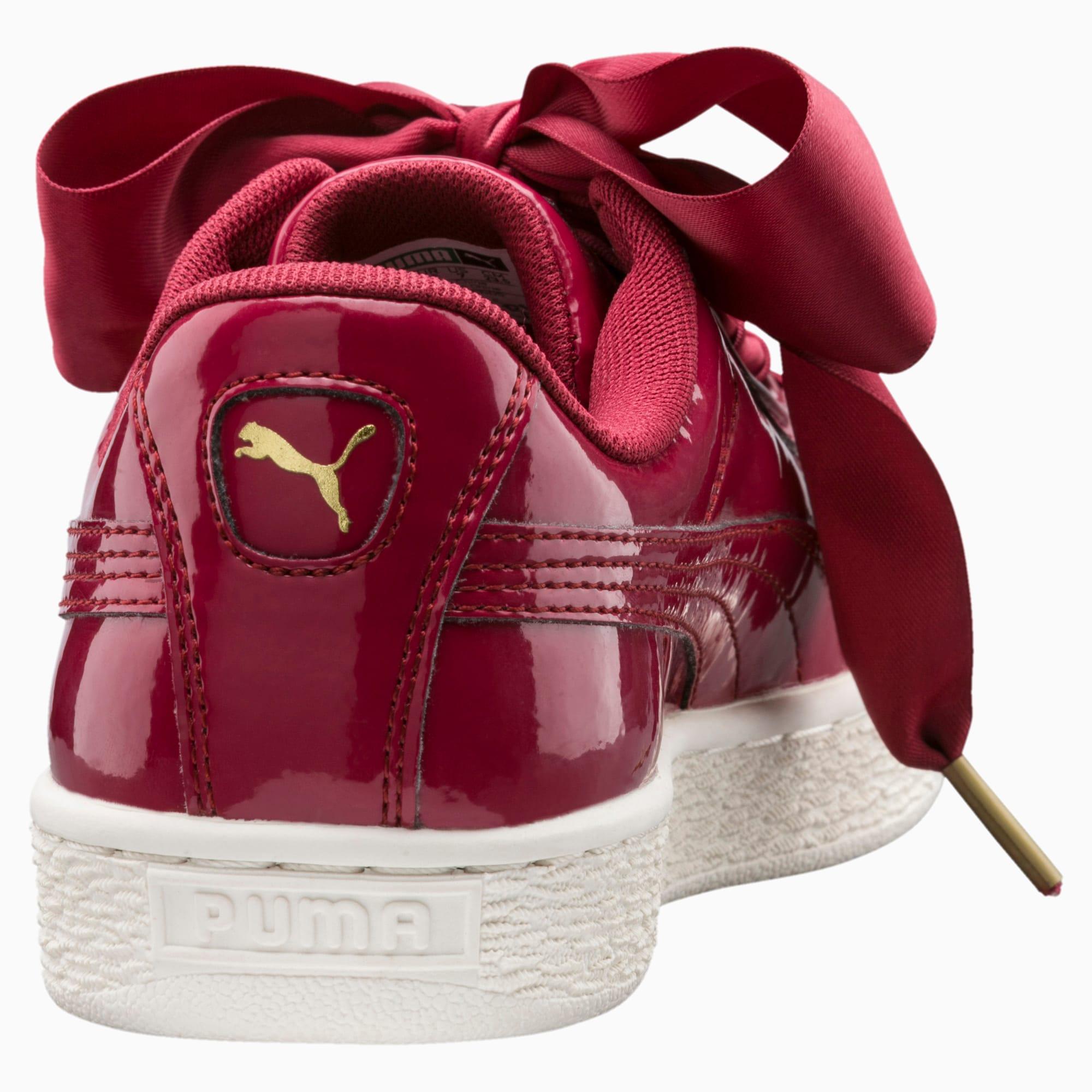 Basket Heart Patent Women's Sneakers