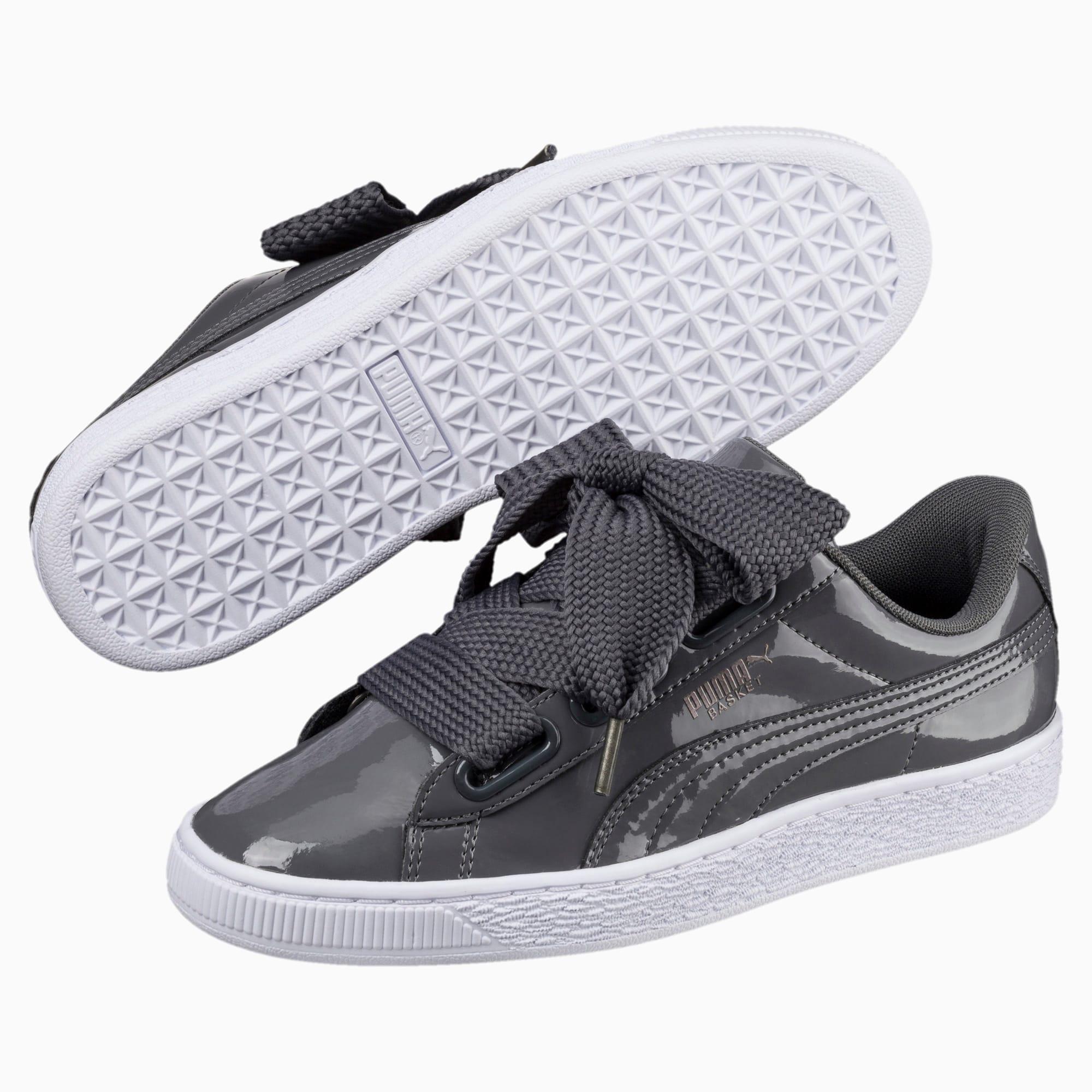 chaussure basket heart patent pour femme puma