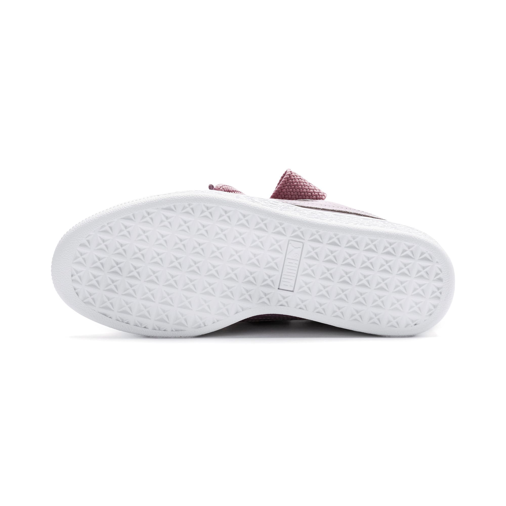 Thumbnail 5 of Basket Heart Patent Women's Trainers, Elderberry-Elderberry, medium-IND