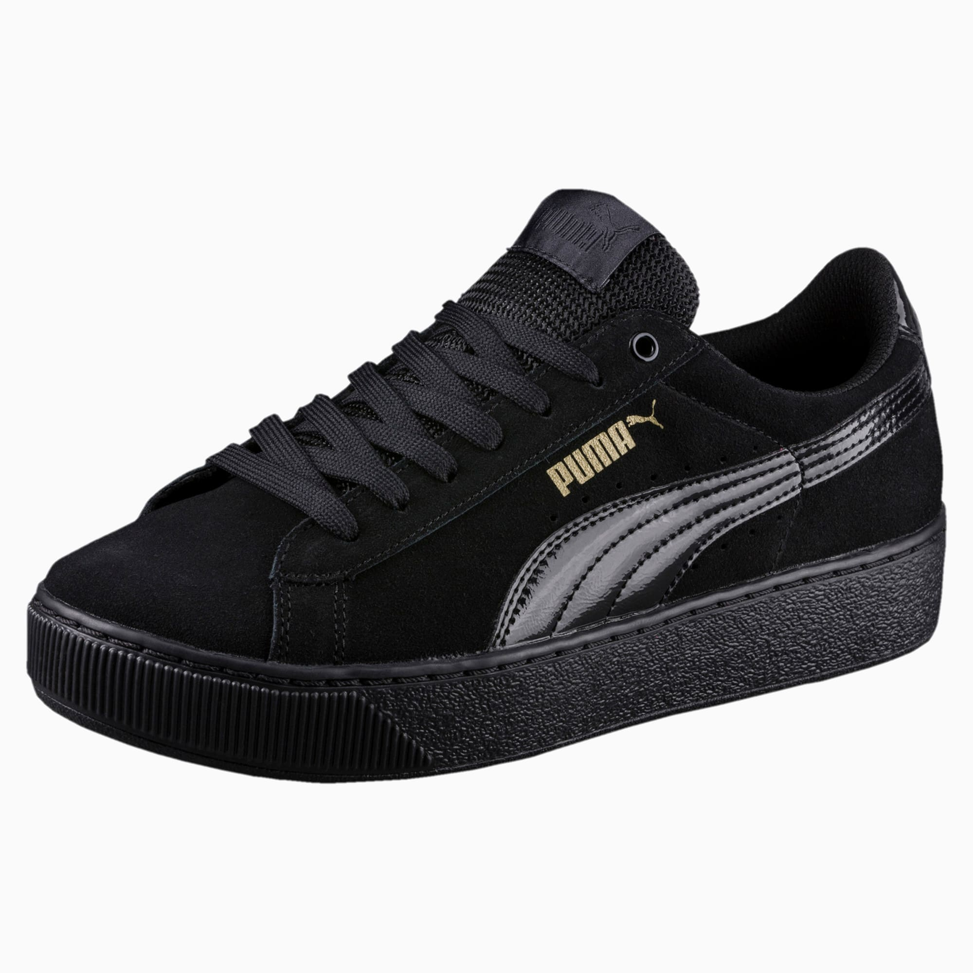 PUMA VIKKY PLATFORM Wildleder Damen Sneakers Schuhe SoftFoam
