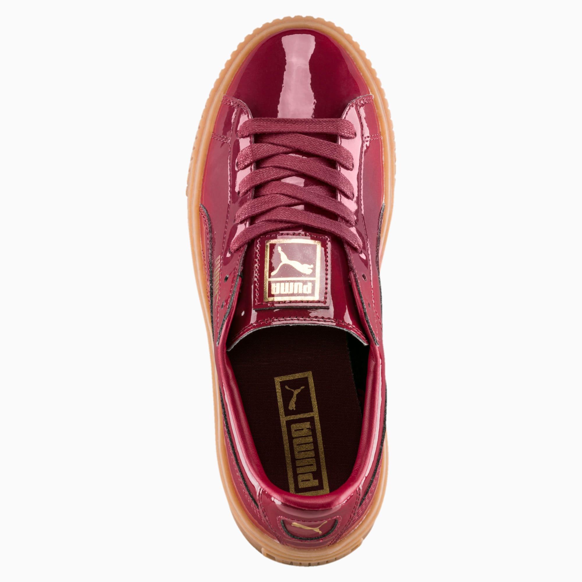 puma basket platform patent rosa