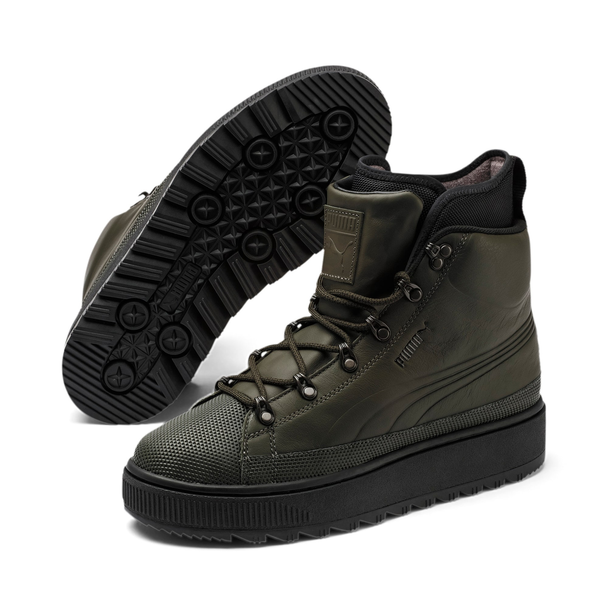 Thumbnail 2 van Evolution The Ren wandelschoenen, Forest Night-Puma Black, medium