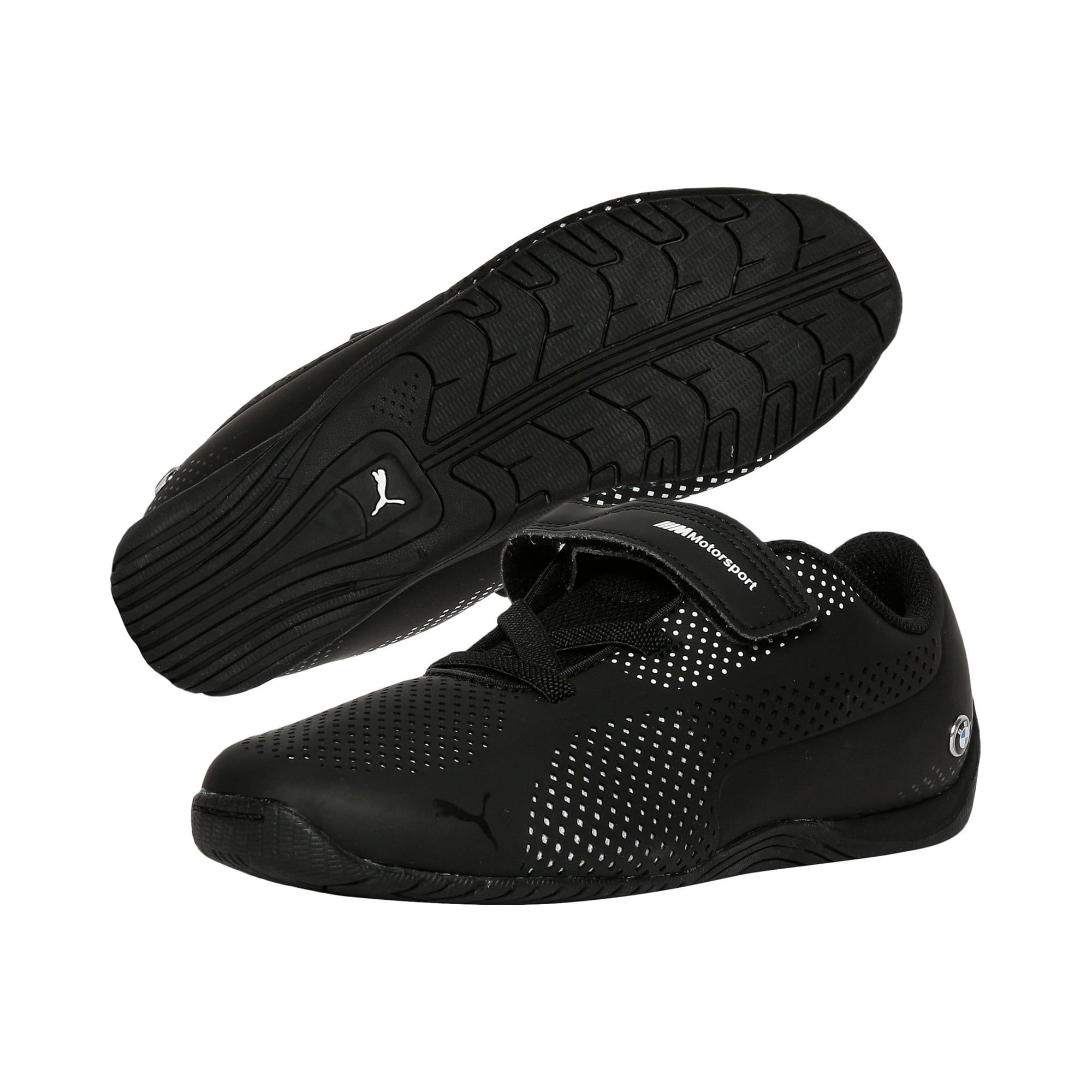 Thumbnail 2 of BMW Motorsport Drift Cat 5 Ultra PS Kids' Trainers, Anthracite-Puma White, medium-IND