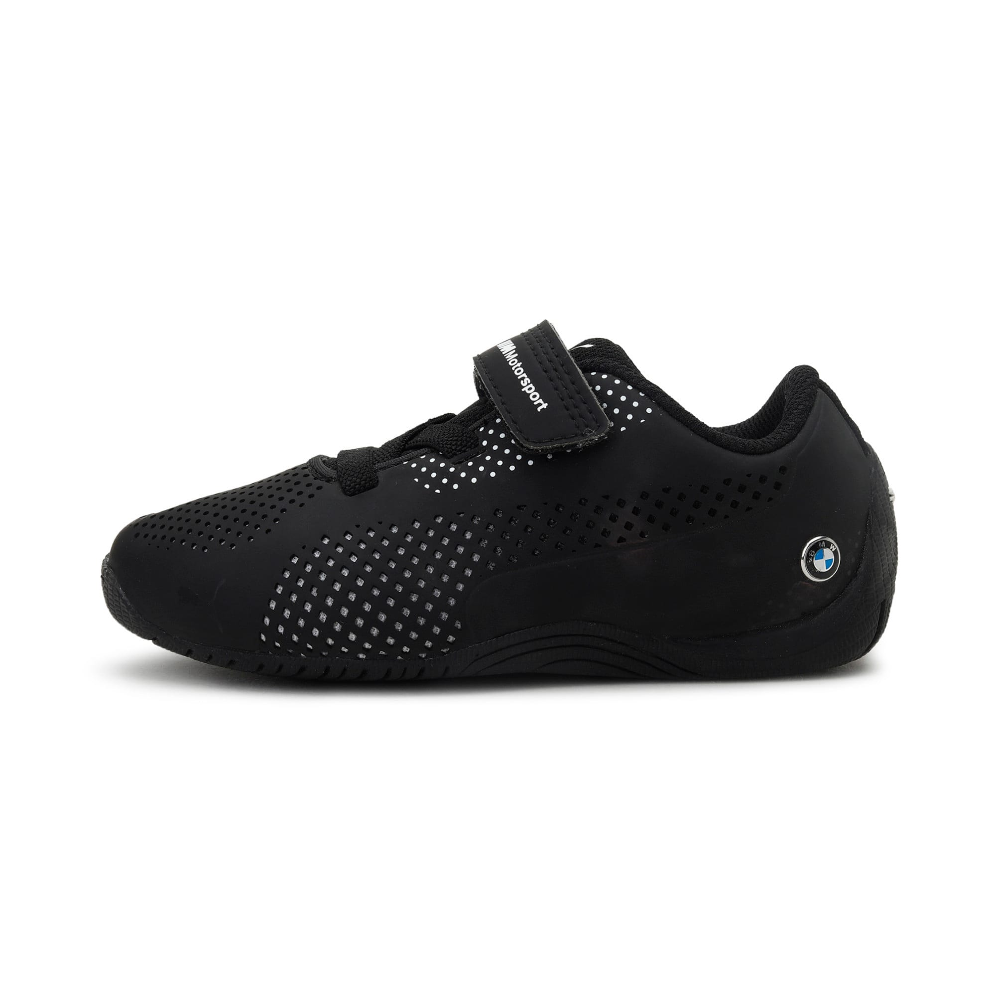 Thumbnail 1 of BMW Motorsport Drift Cat 5 Ultra PS Kids' Trainers, Anthracite-Puma White, medium-IND