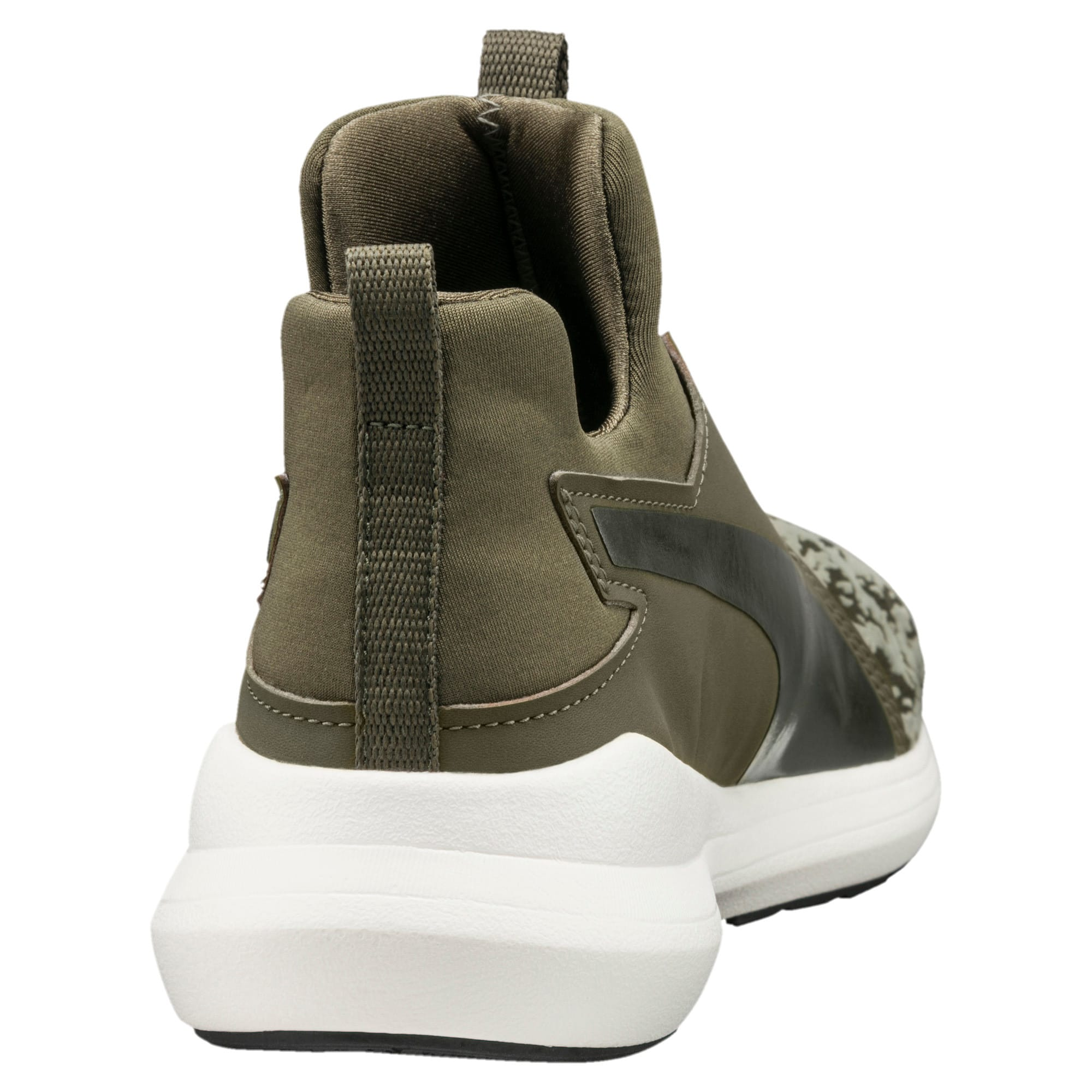 Thumbnail 3 of Rebel Mid VR Women's Trainers, Olive Night-Olive Night, medium-IND