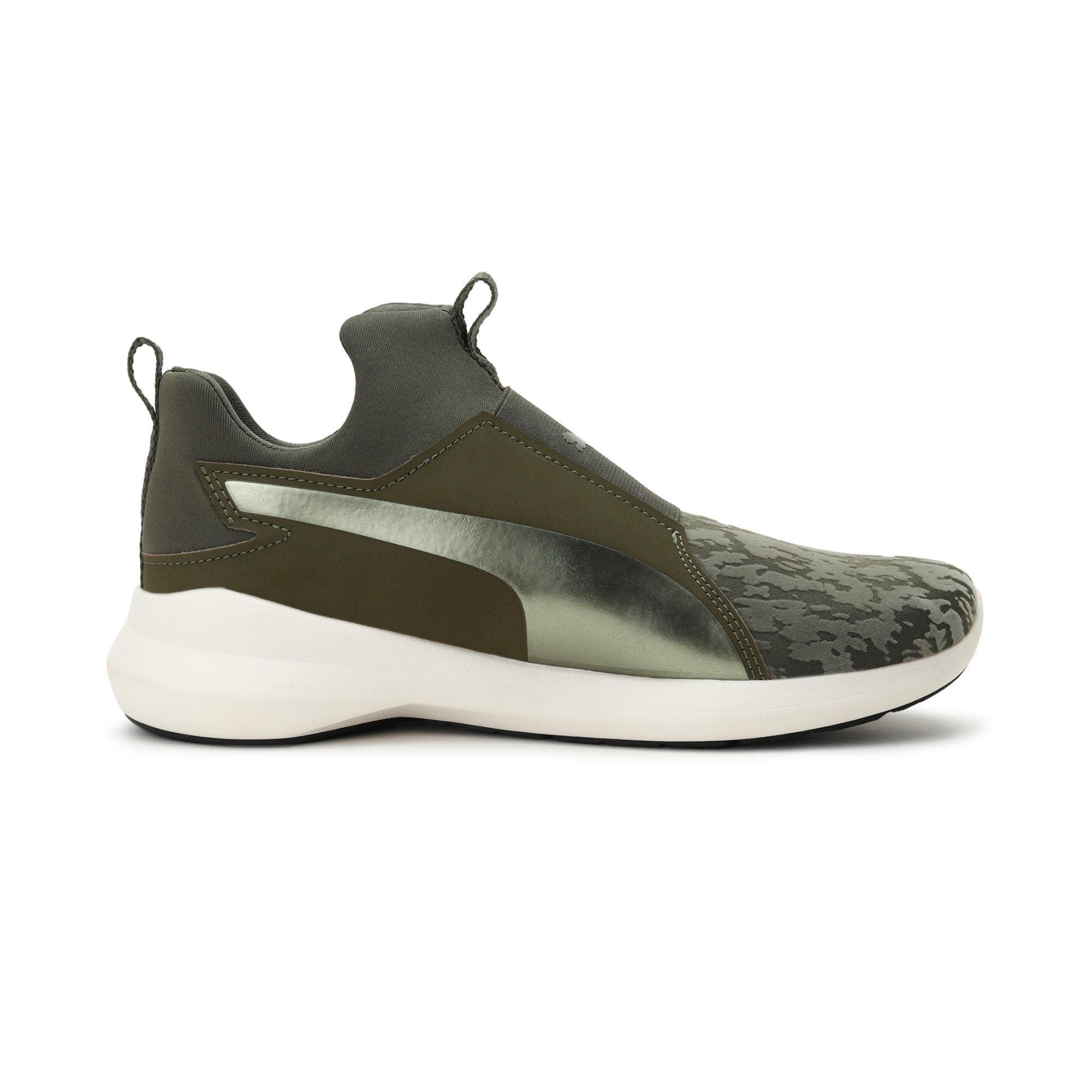 Thumbnail 5 of Rebel Mid VR Women's Trainers, Olive Night-Olive Night, medium-IND