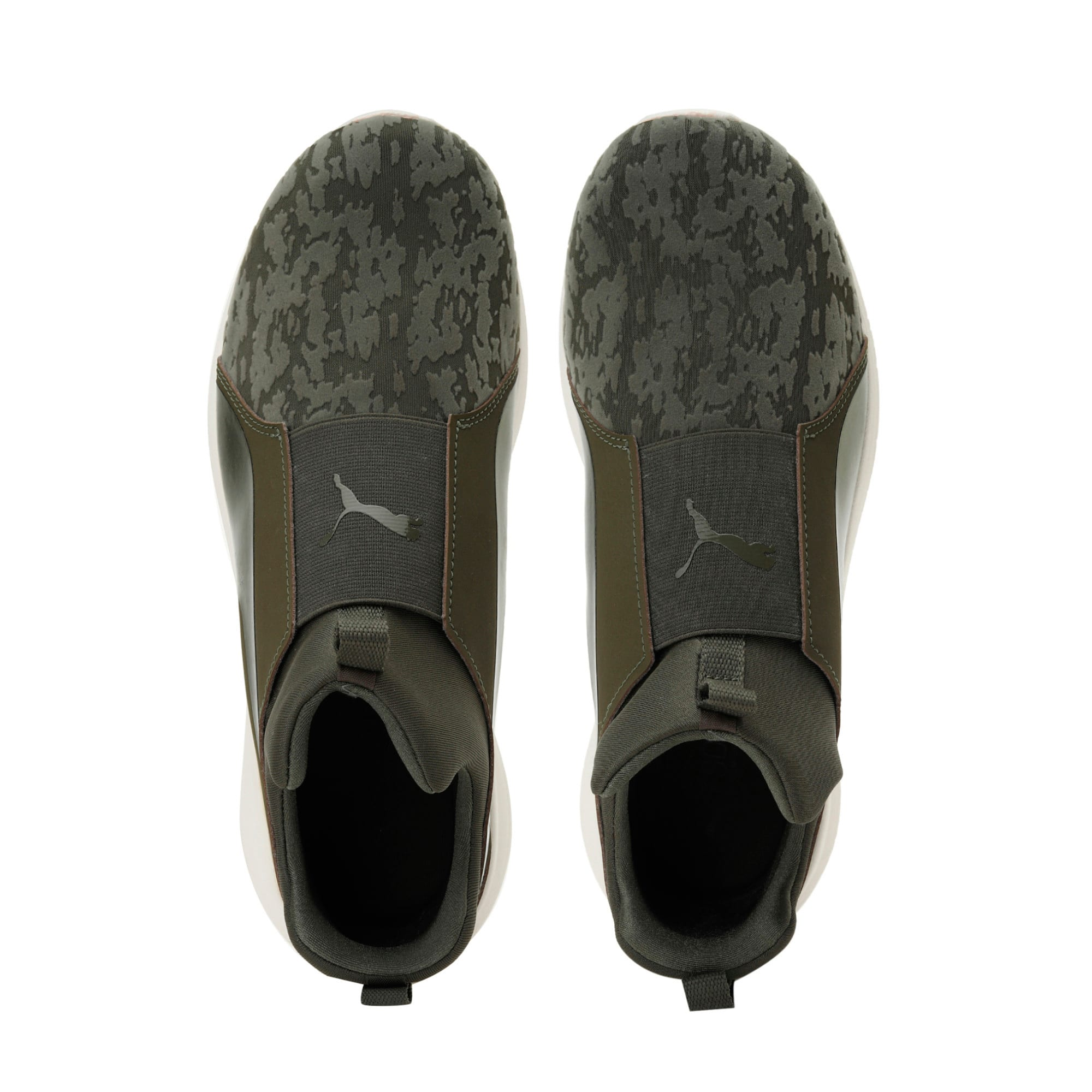 Thumbnail 6 of Rebel Mid VR Women's Trainers, Olive Night-Olive Night, medium-IND