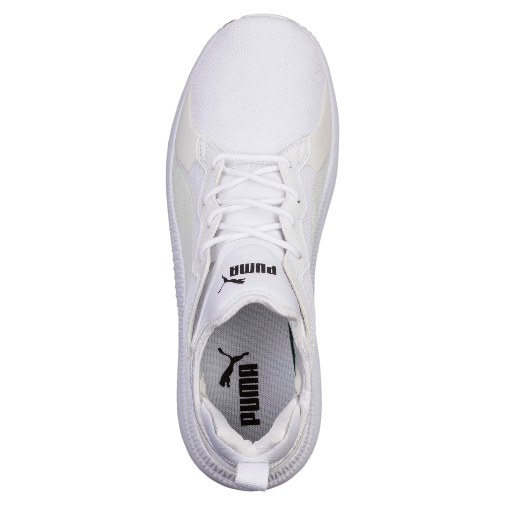 Thumbnail 4 of Pacer Next Trainers, Puma White-Puma White, medium-IND
