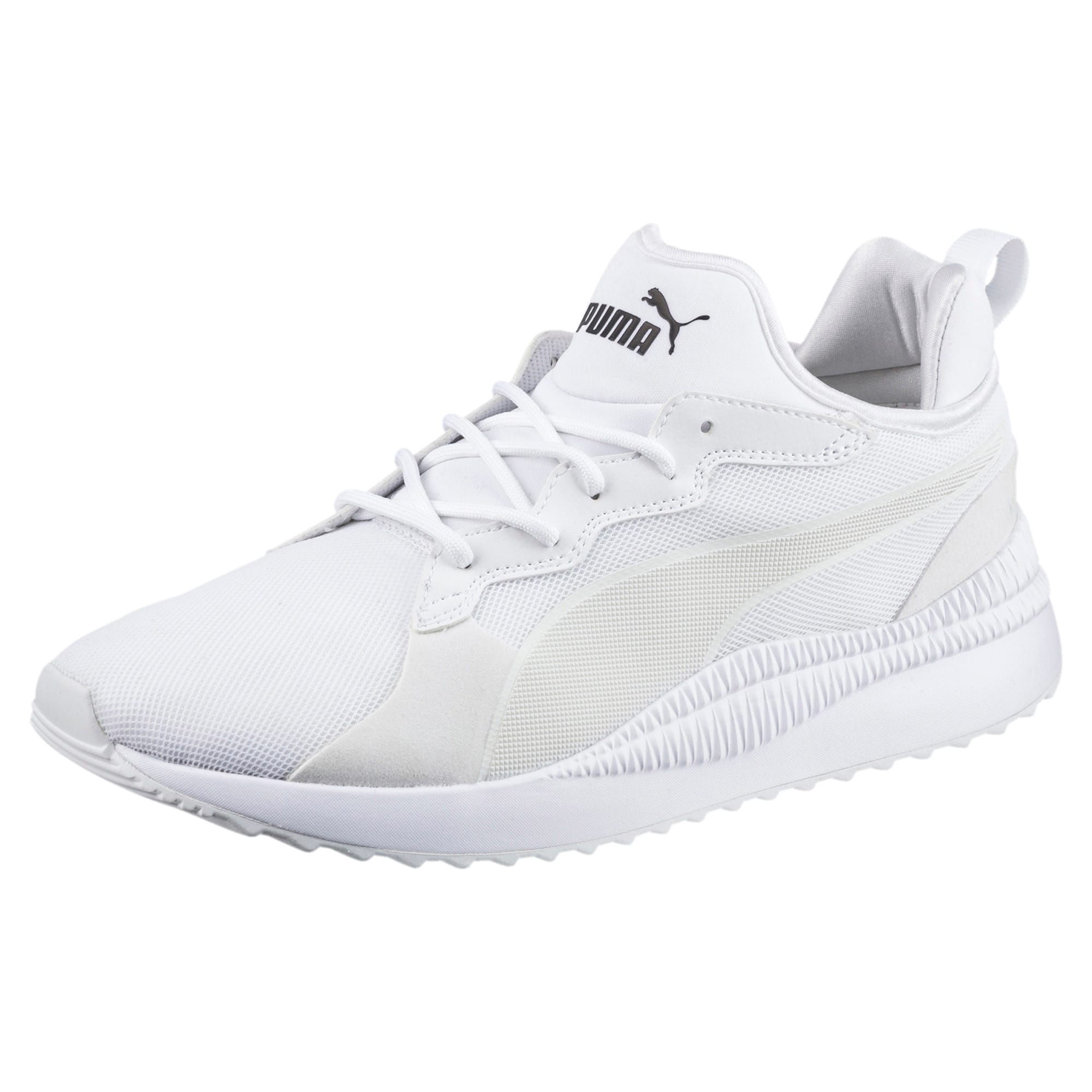 Thumbnail 1 of Pacer Next Trainers, Puma White-Puma White, medium-IND
