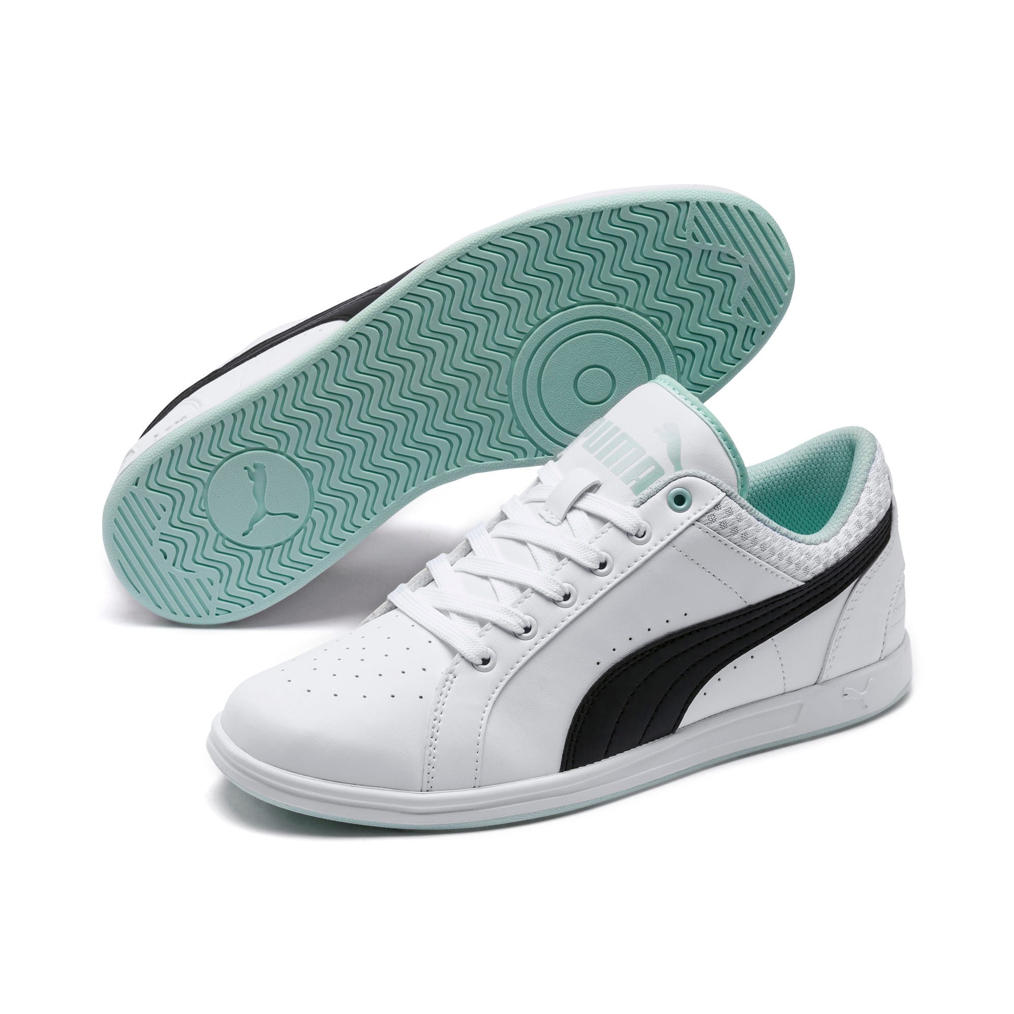 Thumbnail 2 of Ikaz Lo v2 Women's Sneakers, Puma White-Puma Black-, medium-IND