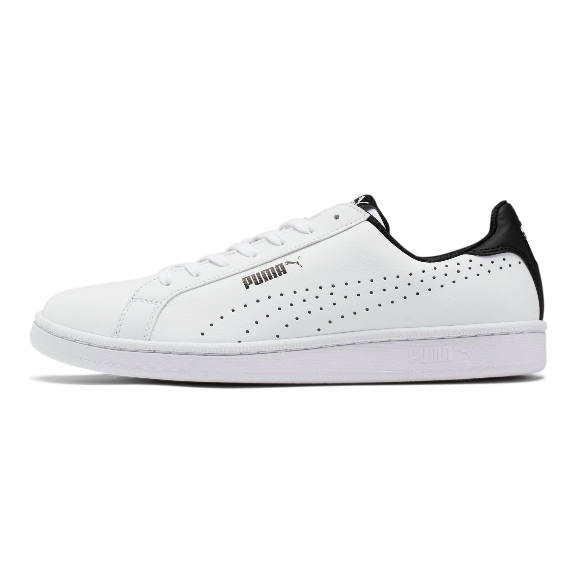 Thumbnail 1 of PUMA Smash Perf Sneakers, Puma White-Puma Black, medium
