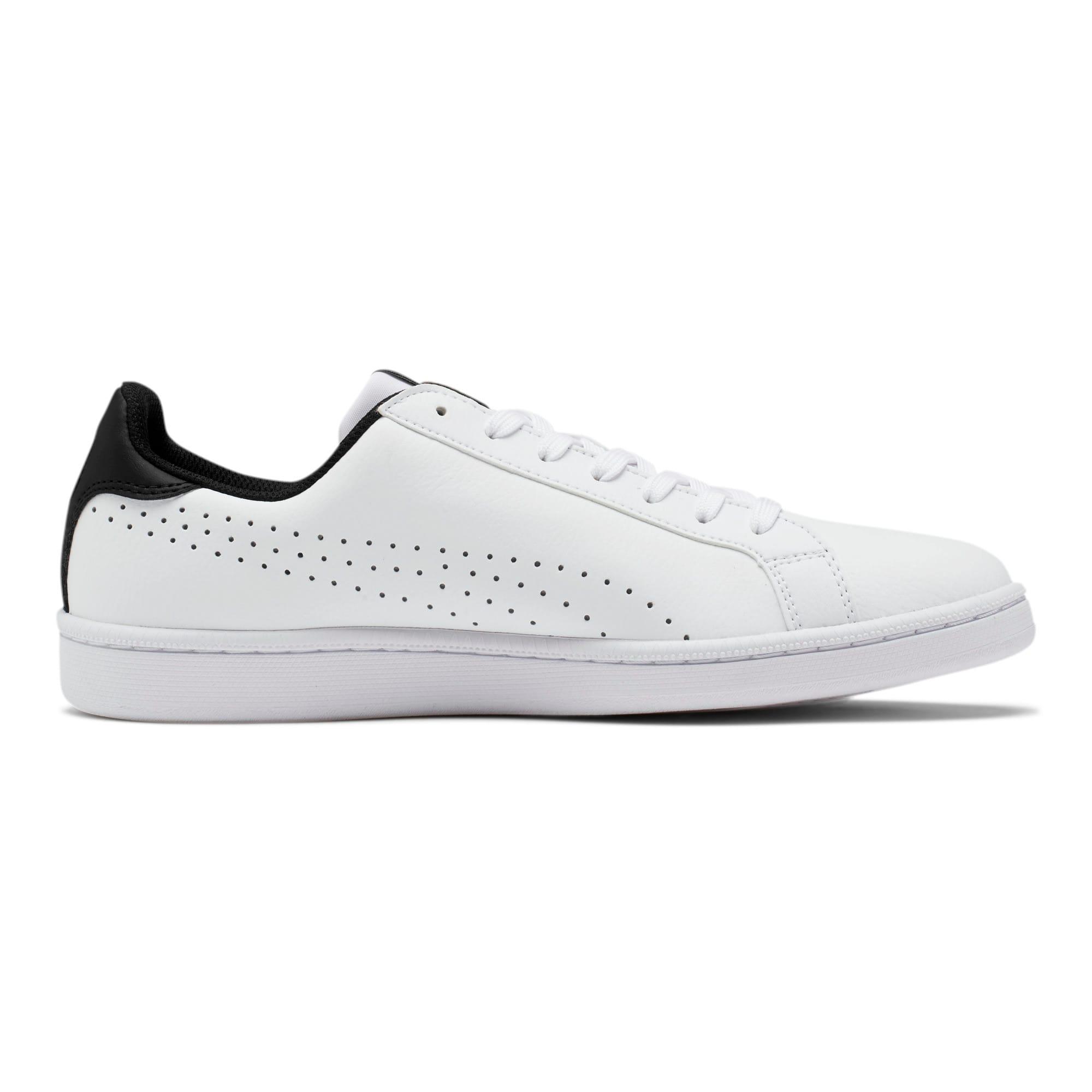 Thumbnail 5 of PUMA Smash Perf Sneakers, Puma White-Puma Black, medium