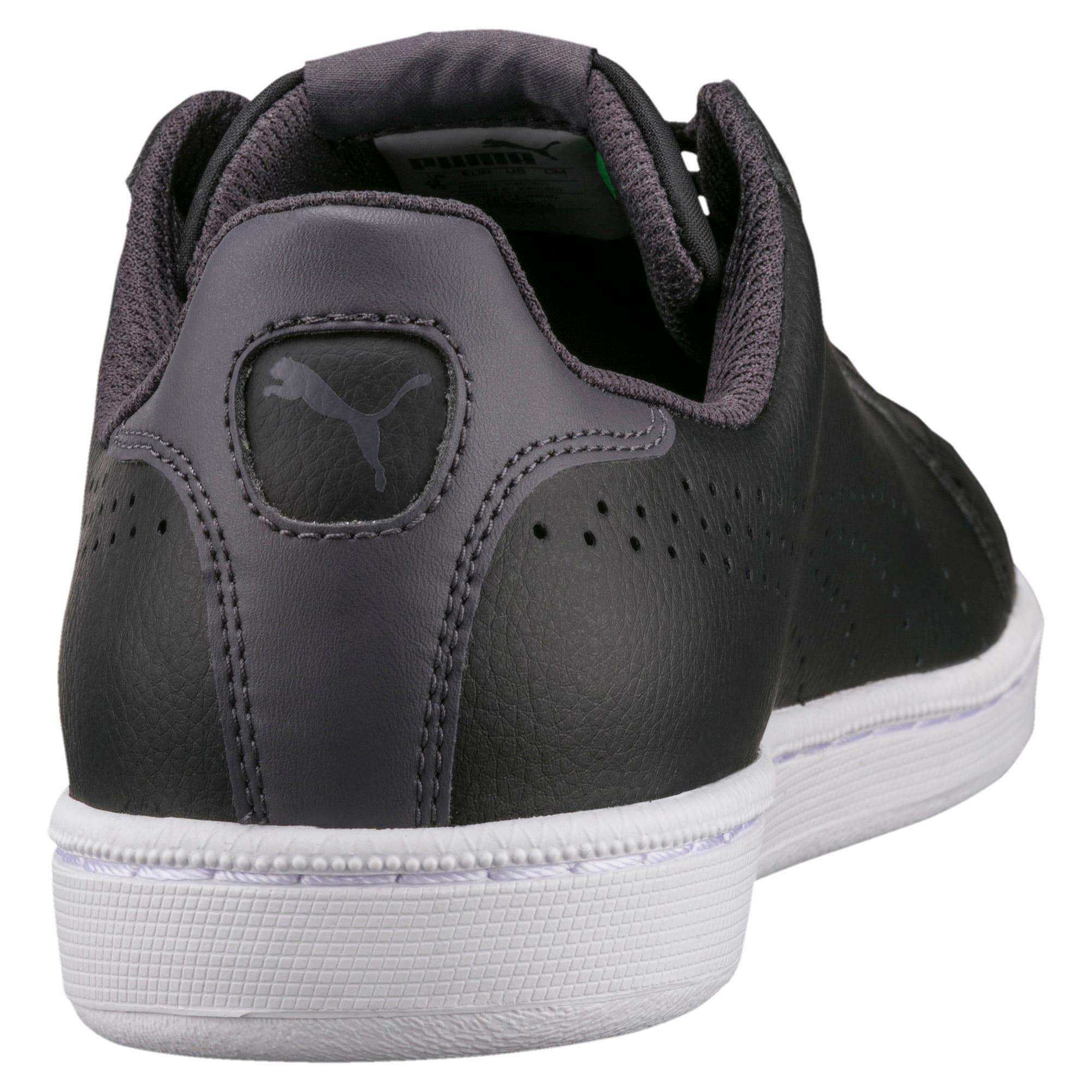 Thumbnail 4 of PUMA Smash Perf Sneakers, Puma Black-Periscope, medium