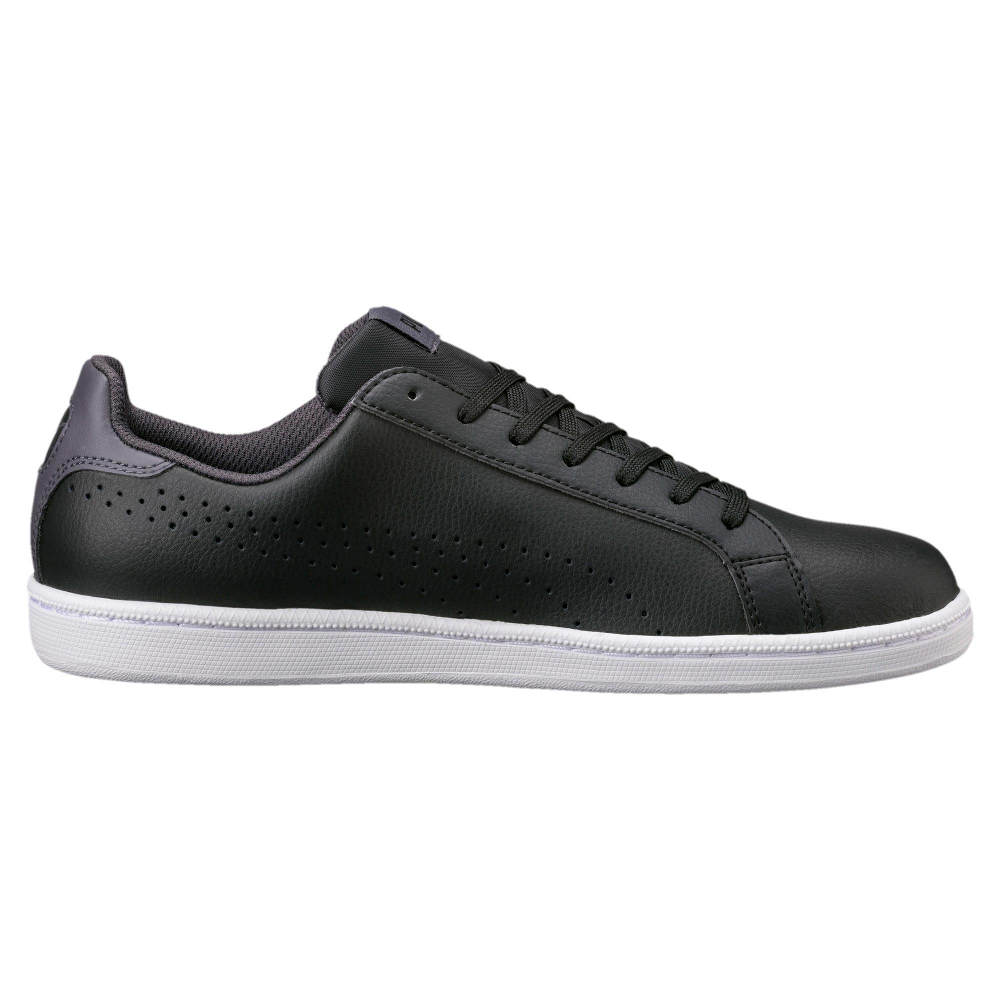 Thumbnail 3 of PUMA Smash Perf Sneakers, Puma Black-Periscope, medium