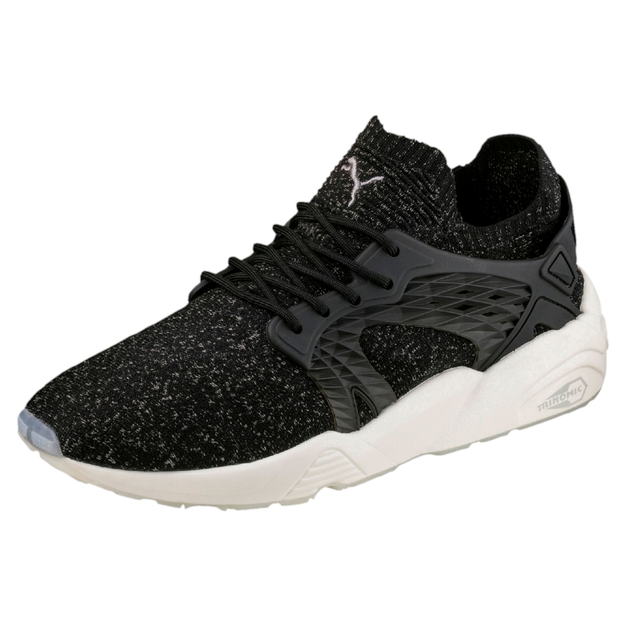 Thumbnail 1 of Blaze Cage evoKNIT Trainers, P Black-Steel Gray-W White, medium-IND
