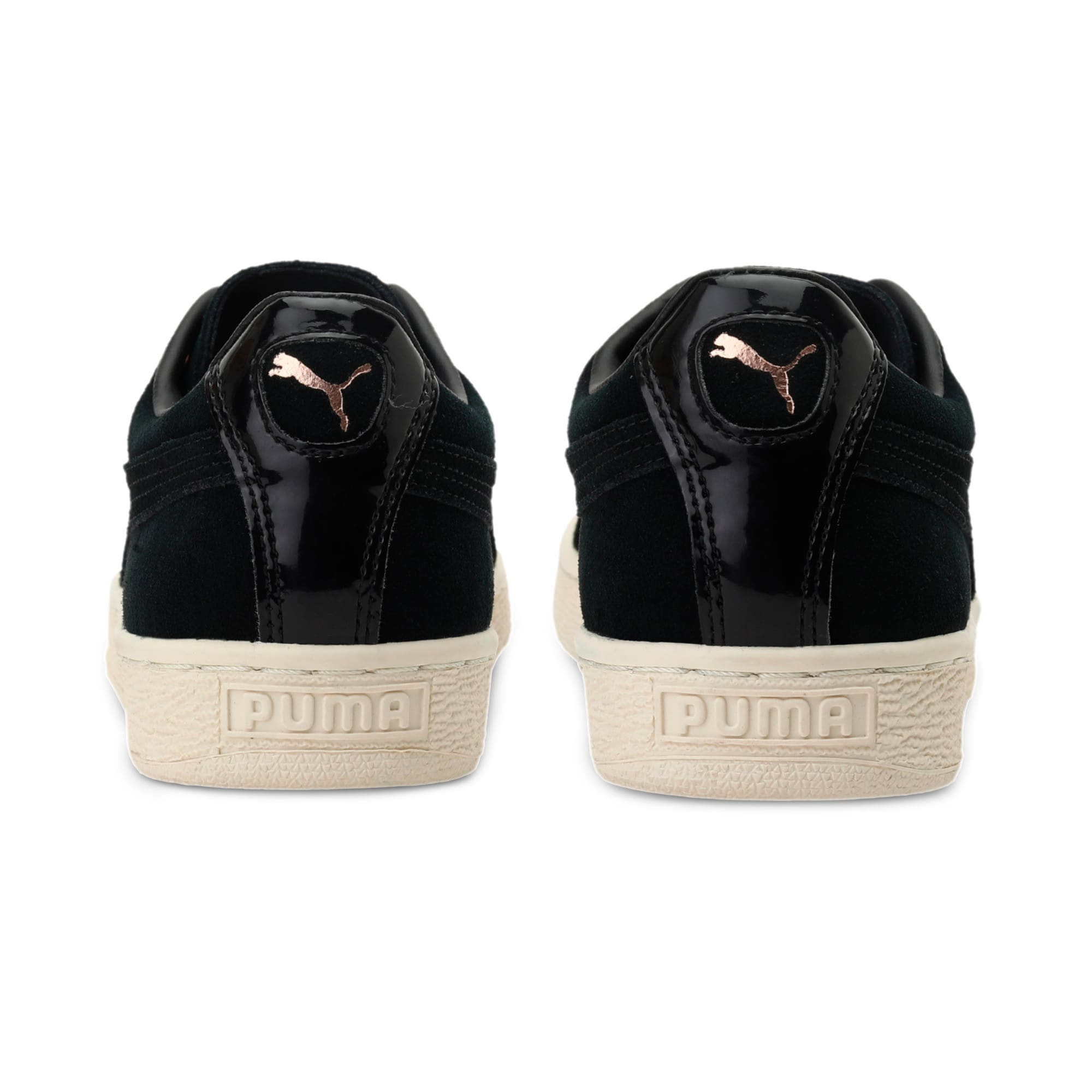 Thumbnail 4 of Suede XL Lace VR Women's Trainers, Puma Black-Puma Black, medium-IND