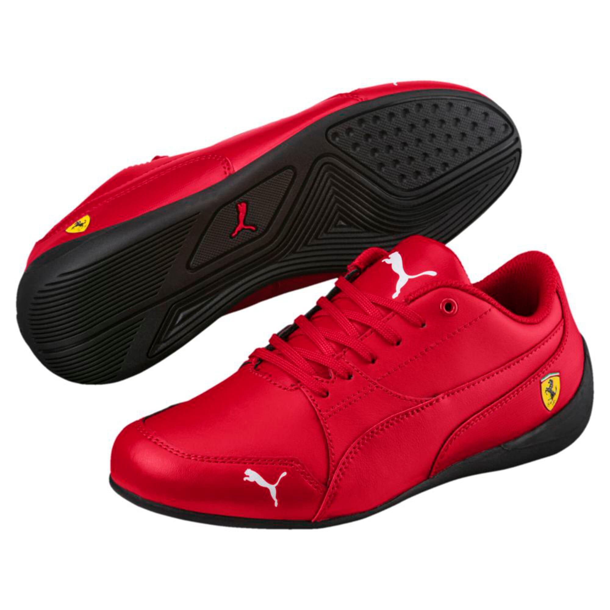 Thumbnail 6 of Ferrari Drift Cat 7 Kids' Trainers, Rosso Corsa-Rosso Corsa, medium-IND