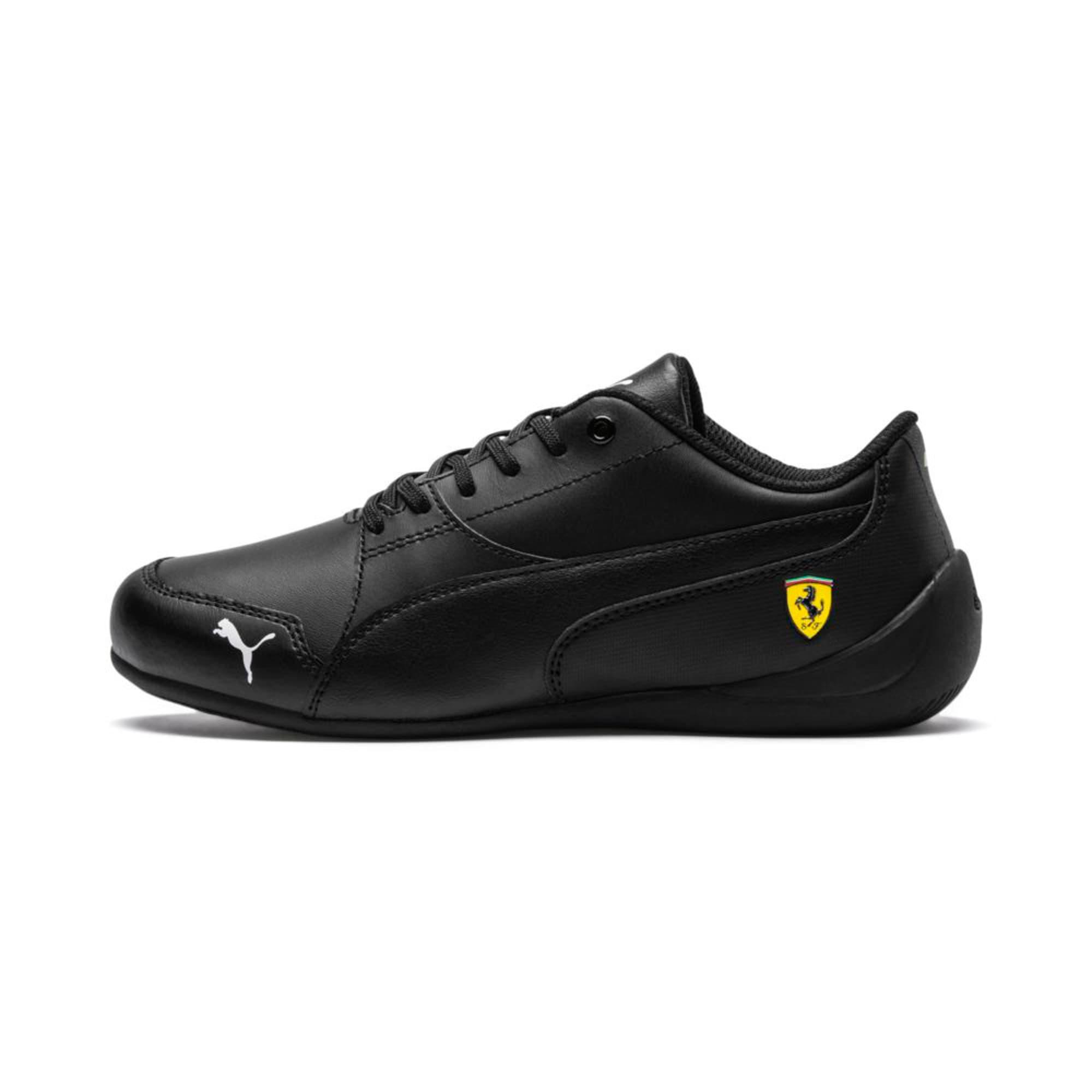Thumbnail 1 of Ferrari Drift Cat 7 Kids' Trainers, Puma Black-Puma Black, medium-IND