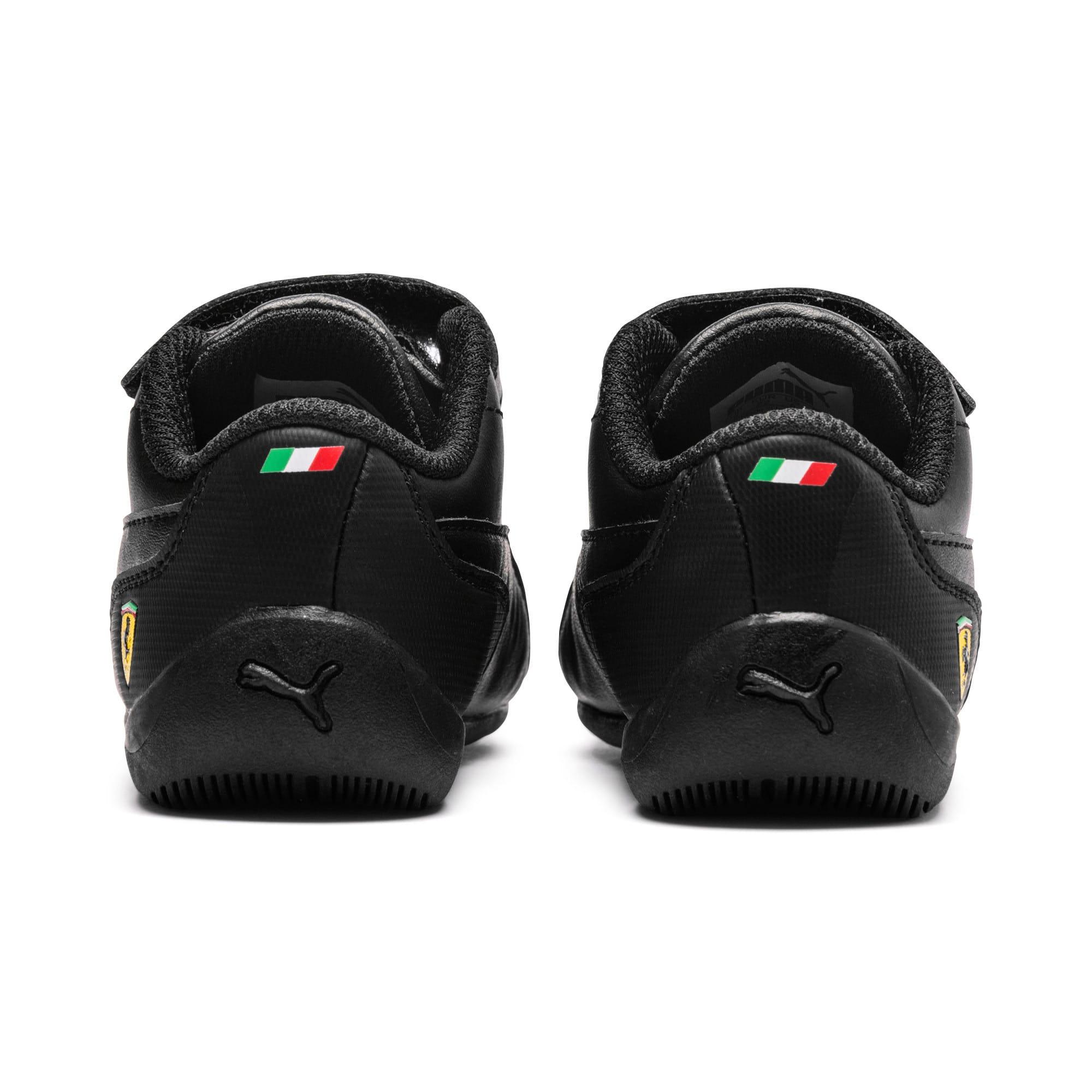Thumbnail 3 of Ferrari Drift Cat 7 V Kids' Trainers, Puma Black-Puma Black, medium-IND