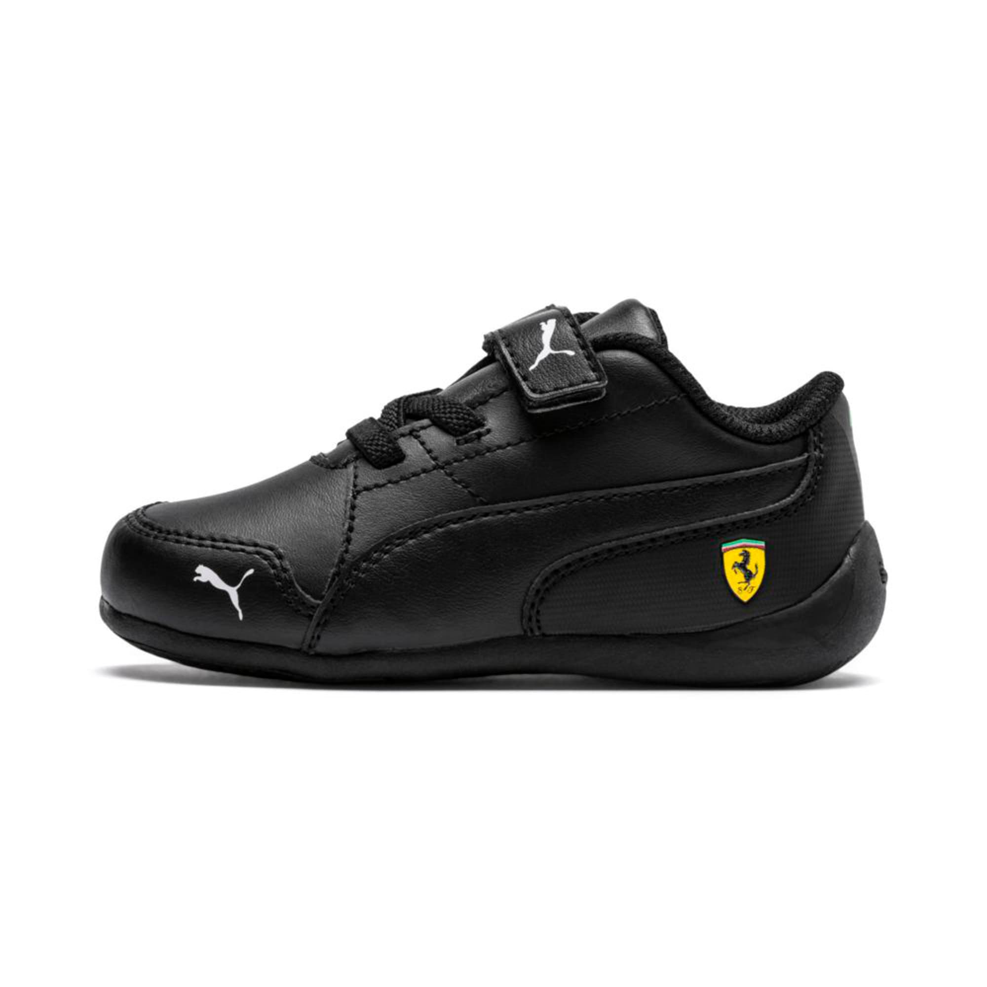 Thumbnail 1 of Ferrari Drift Cat 7 V Kids' Trainers, Puma Black-Puma Black, medium-IND