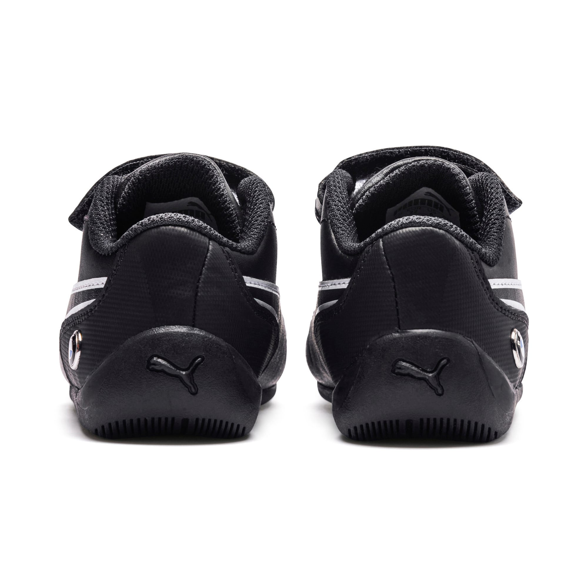 Thumbnail 3 of BMW Motorsport Drift Cat 7 V Preschool Kids' Trainers, Anthracite-Anthracite, medium-IND