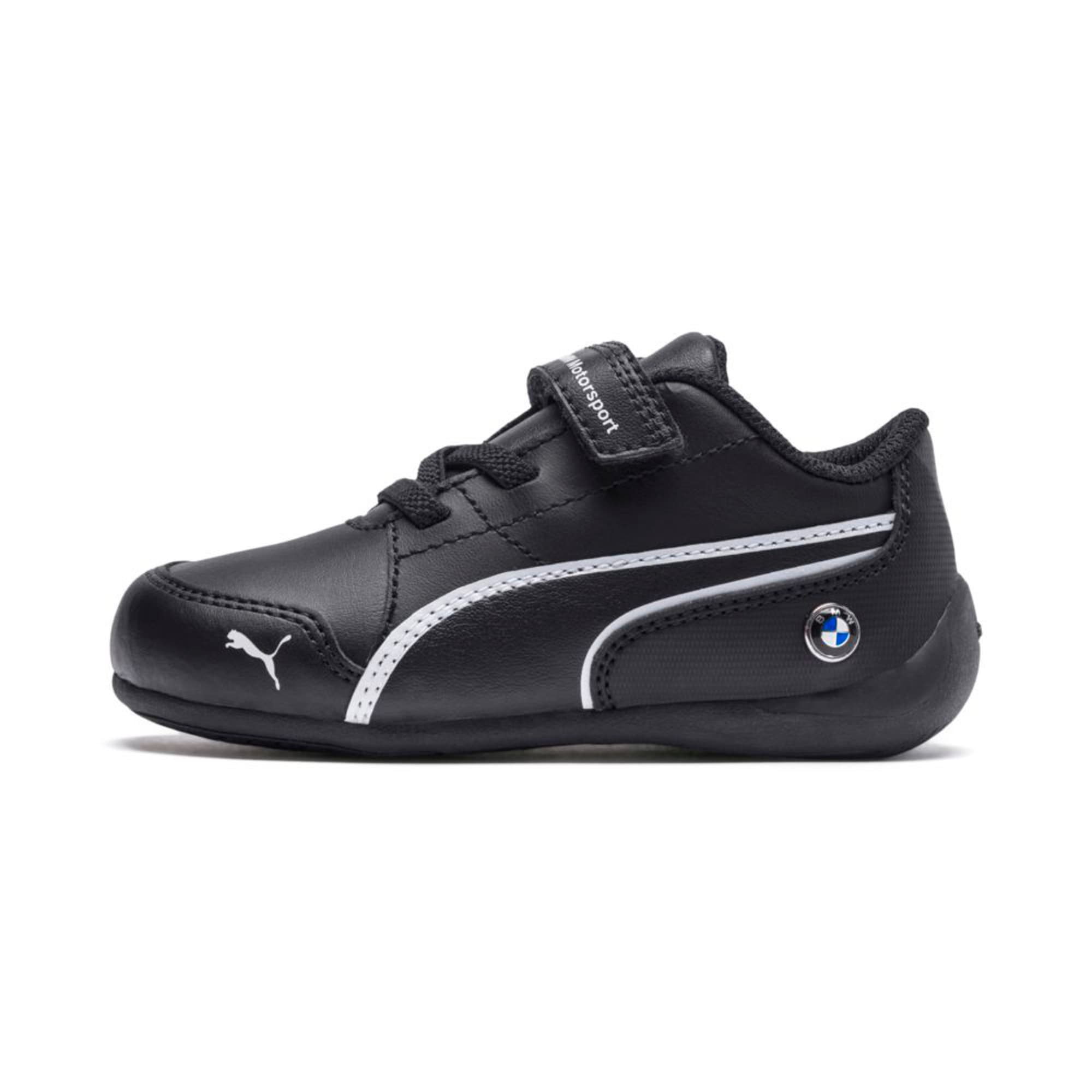 Thumbnail 1 of BMW Motorsport Drift Cat 7 V Preschool Kids' Trainers, Anthracite-Anthracite, medium-IND