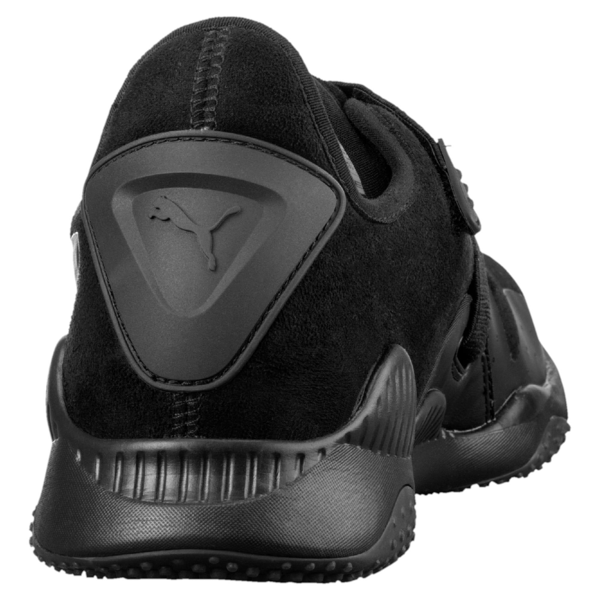 Thumbnail 3 of Mostro Hypernature Trainers, Puma Black-Puma Black, medium-IND