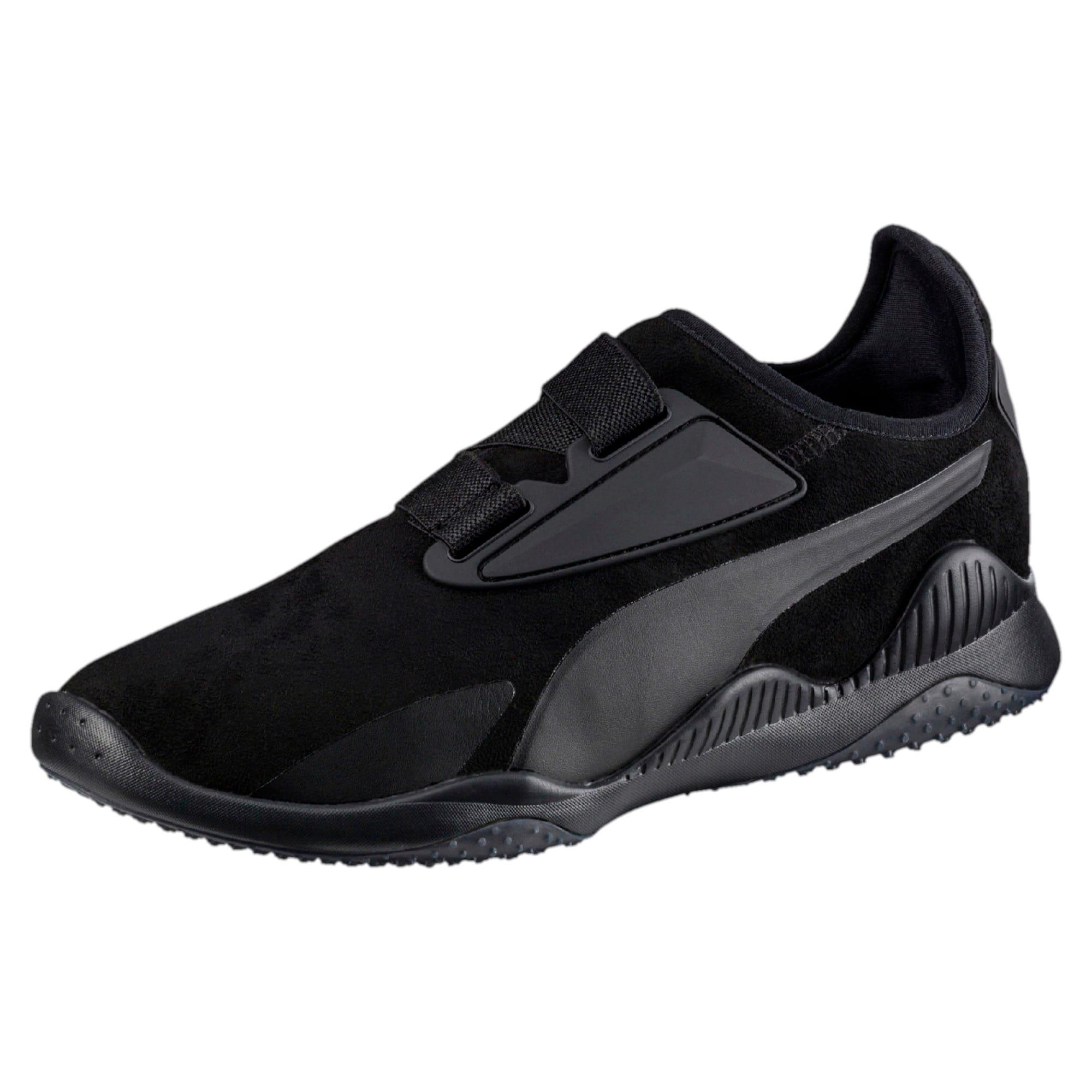 Thumbnail 1 of Mostro Hypernature Trainers, Puma Black-Puma Black, medium-IND