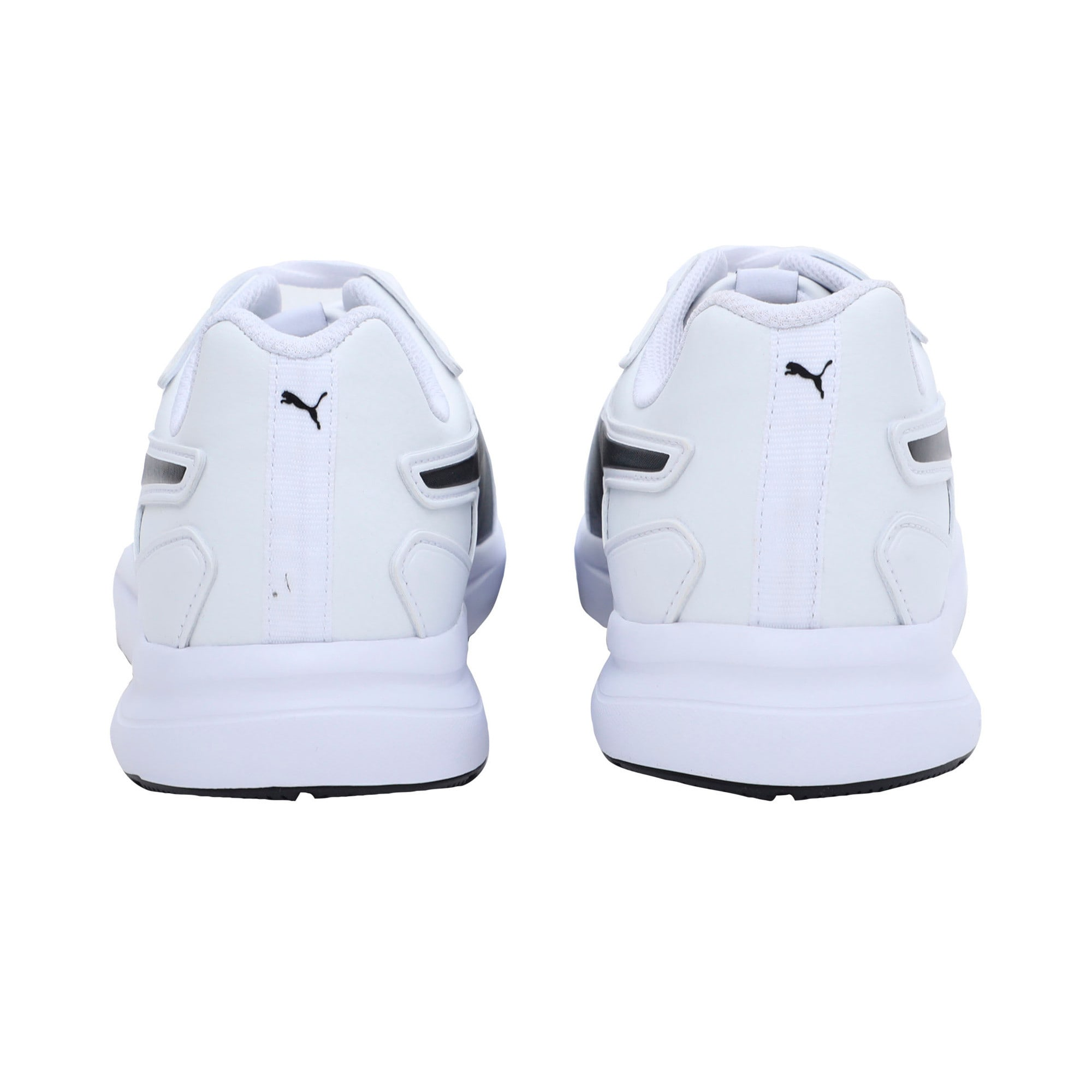 Thumbnail 3 of Escaper SL Trainers, Puma White-Puma Black, medium-IND