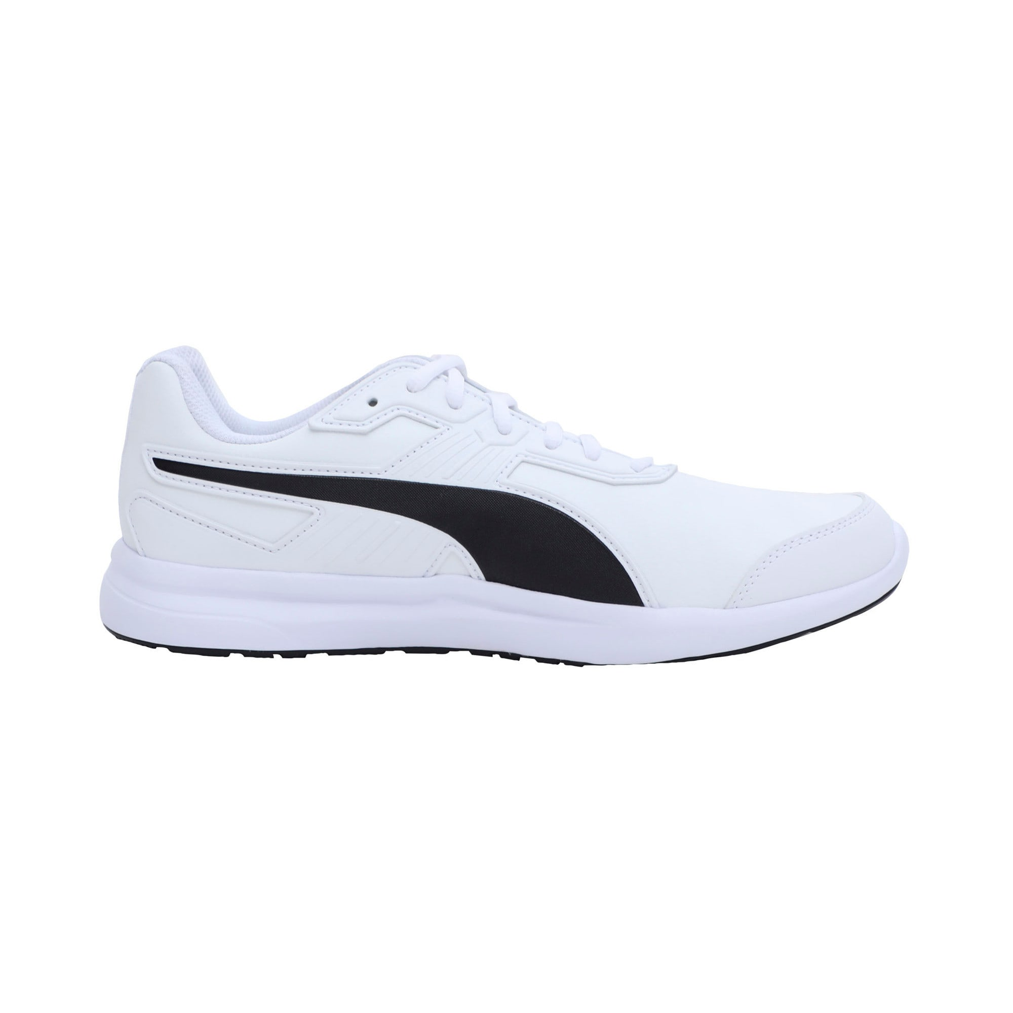 Thumbnail 5 of Escaper SL Trainers, Puma White-Puma Black, medium-IND