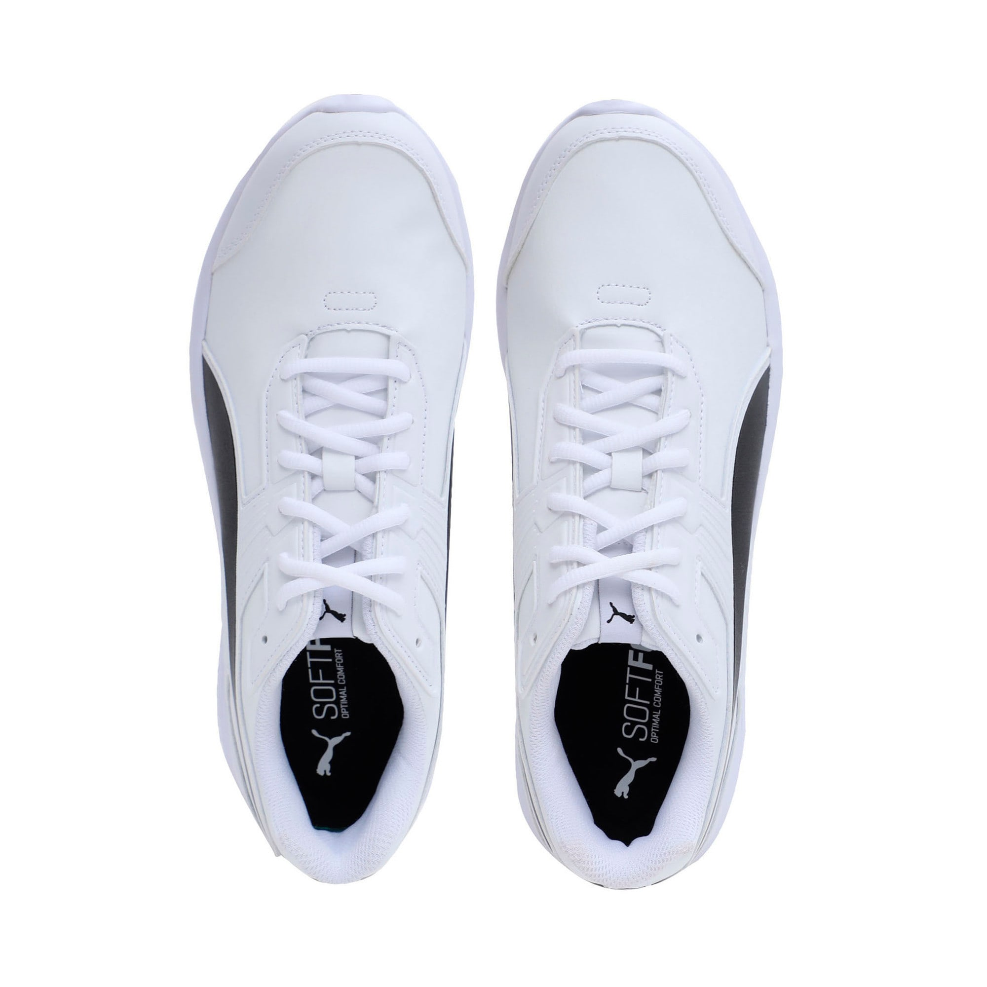 Thumbnail 6 of Escaper SL Trainers, Puma White-Puma Black, medium-IND