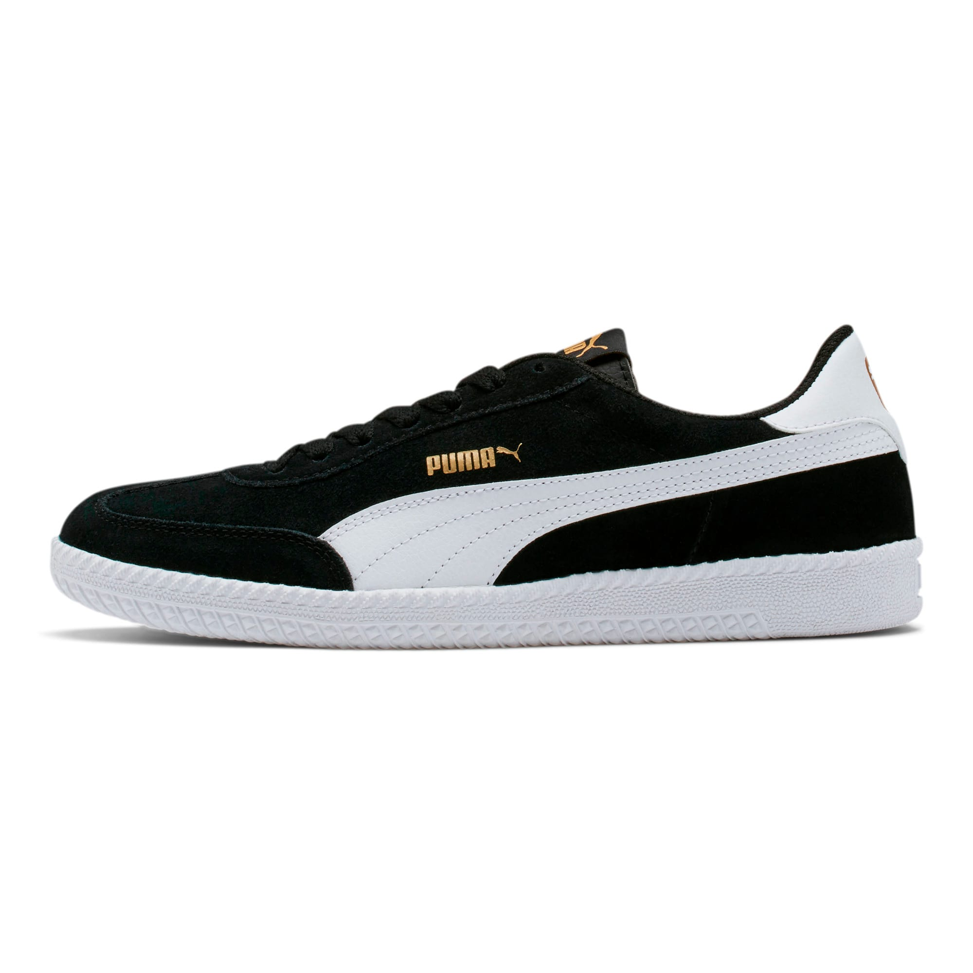 Astro Cup Suede Sneakers, Puma Black-Puma White, large