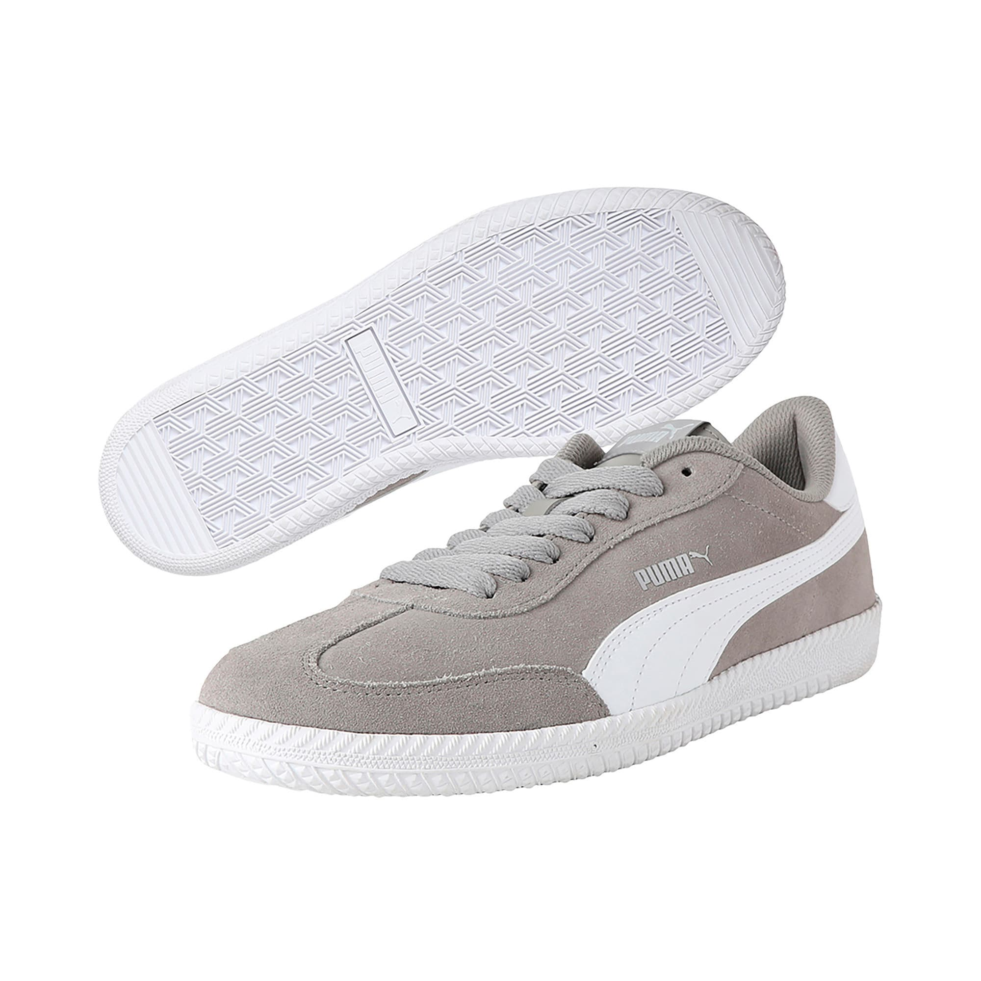 Thumbnail 2 of Astro Cup Trainers, Elephant Skin-Puma White, medium-IND