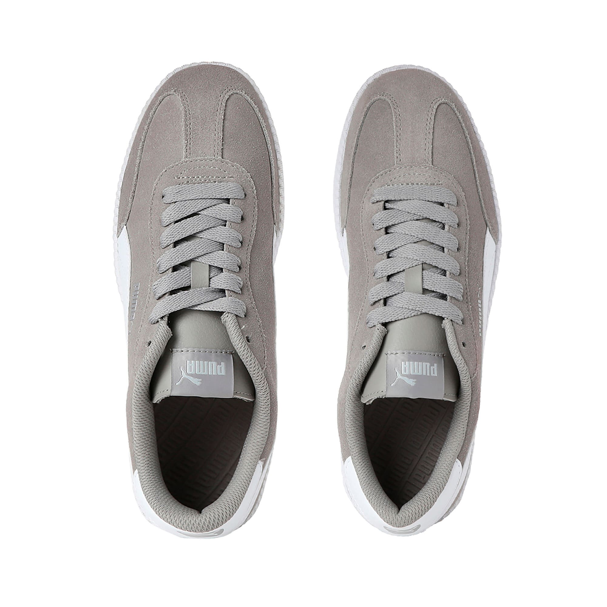 Thumbnail 6 of Astro Cup Trainers, Elephant Skin-Puma White, medium-IND