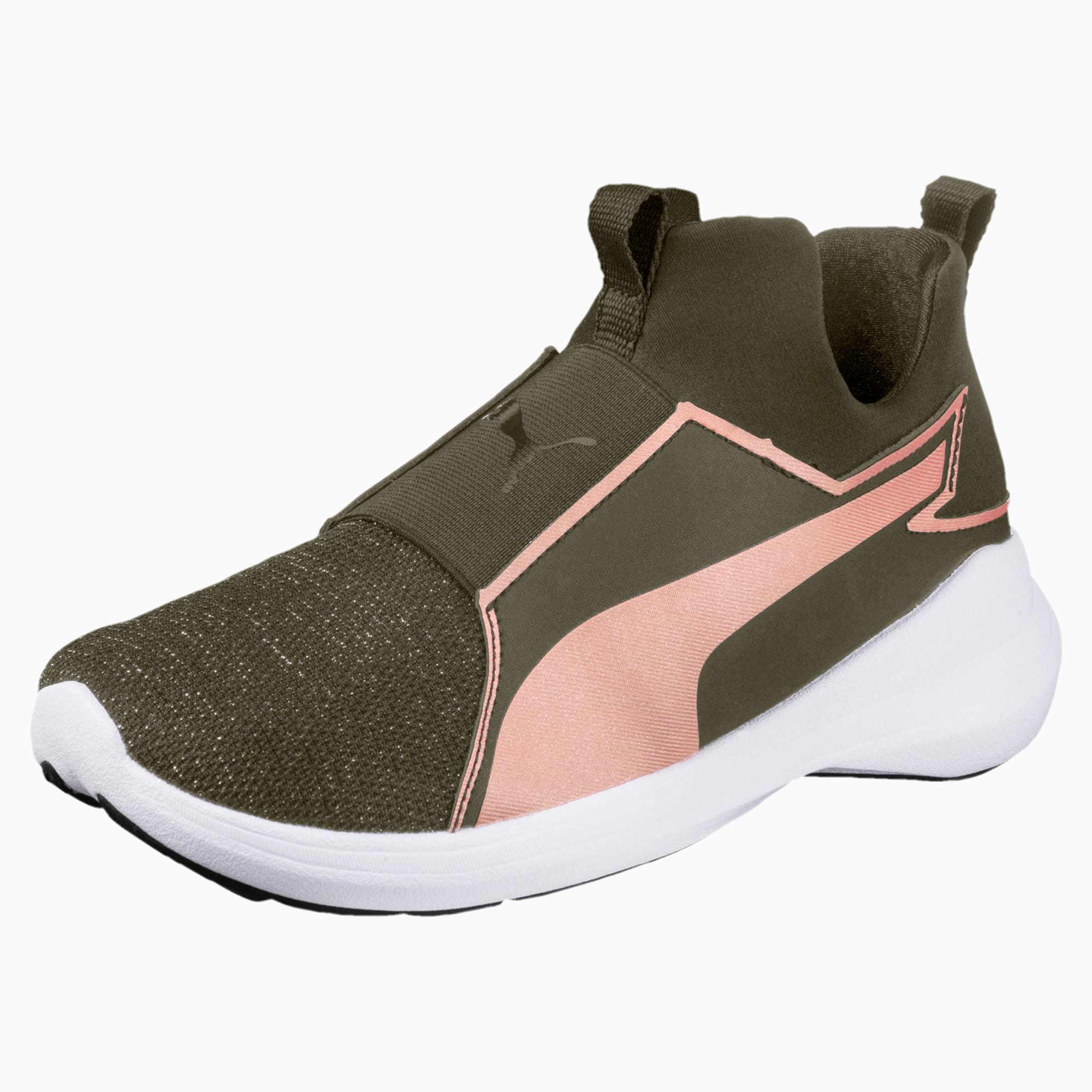 Rebel Mid Gleam Training Shoes JR