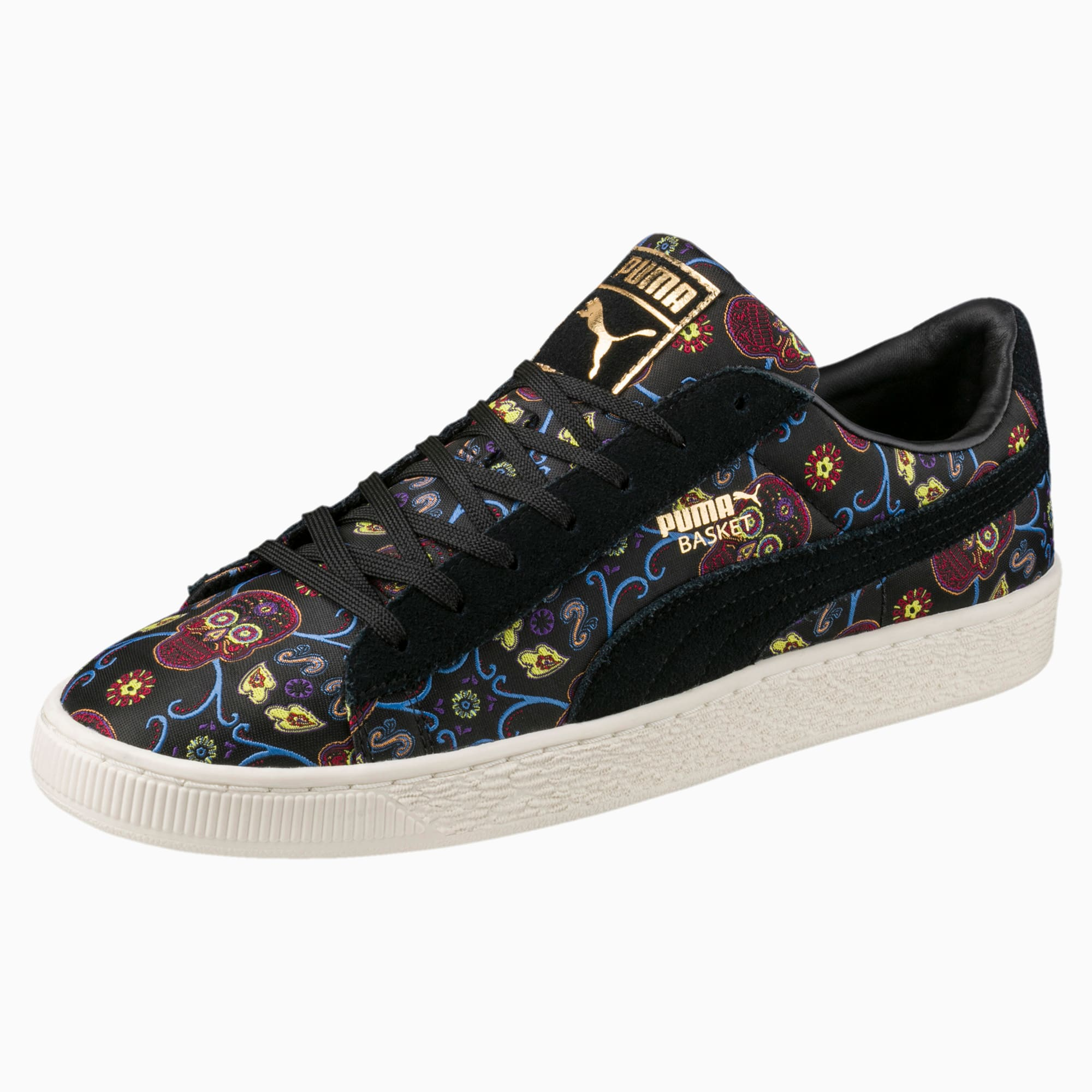 Basket Classic Day Of The Dead Sneakers