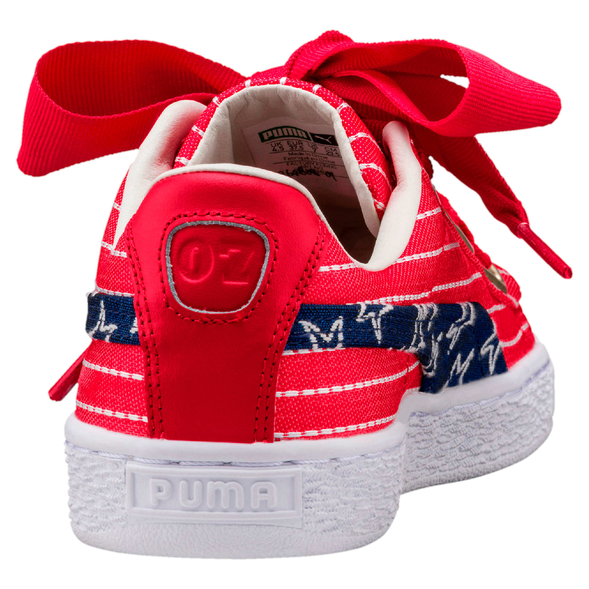 Basket Heart 4th Of July Women's Sneakers