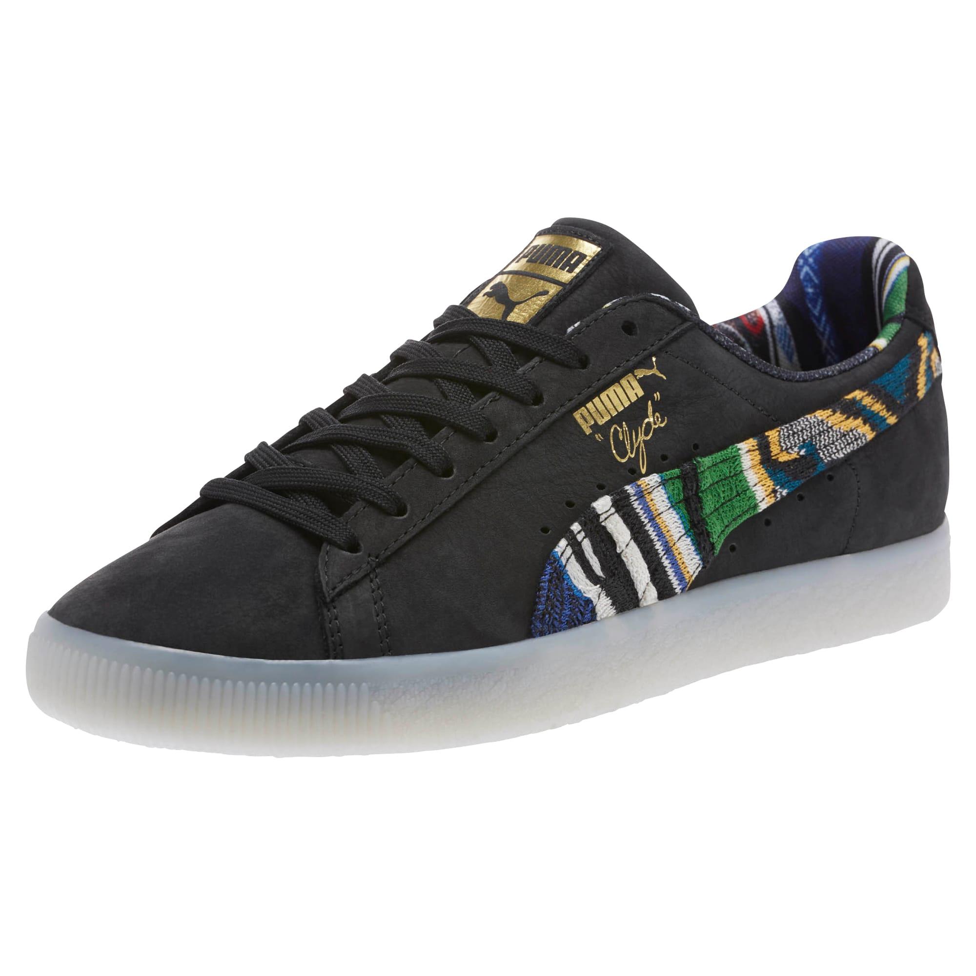 Mens Puma Coogi Clyde Formstrip Sneakers Black